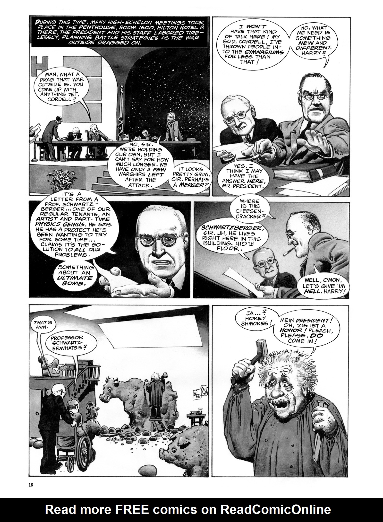 Read online Eerie Archives comic -  Issue # TPB 18 - 17