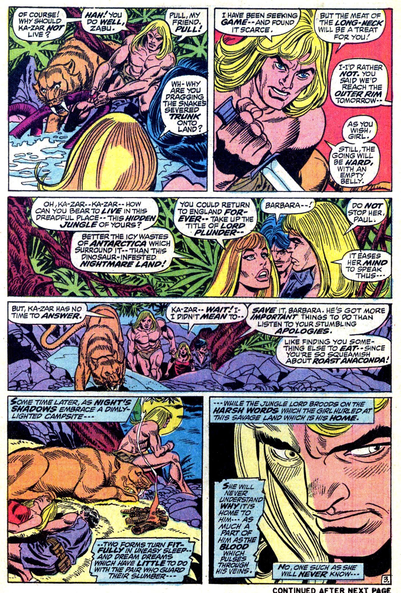 Read online Astonishing Tales (1970) comic -  Issue #11 - 4