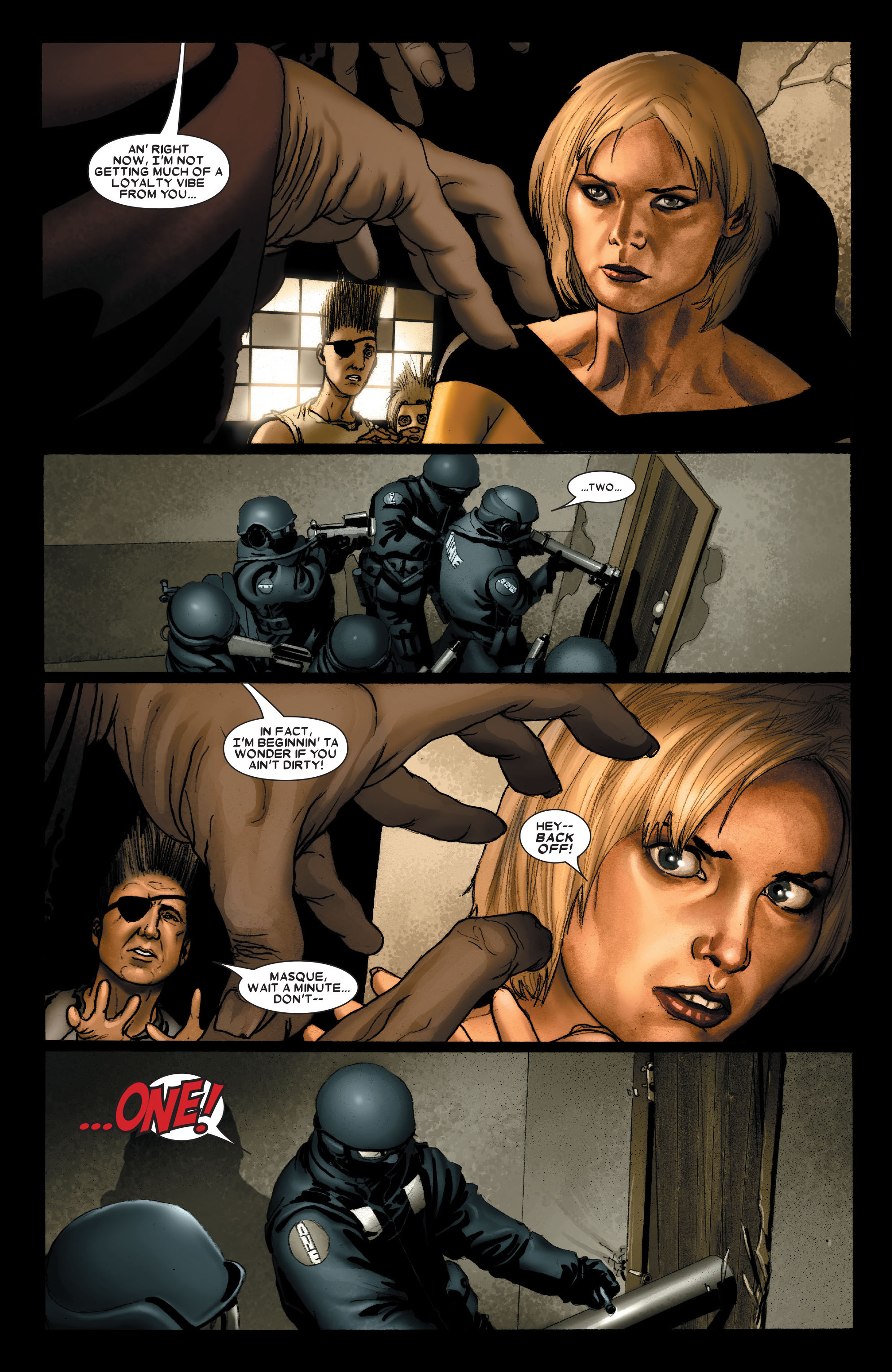 Read online Uncanny X-Men (1963) comic -  Issue #489 - 15