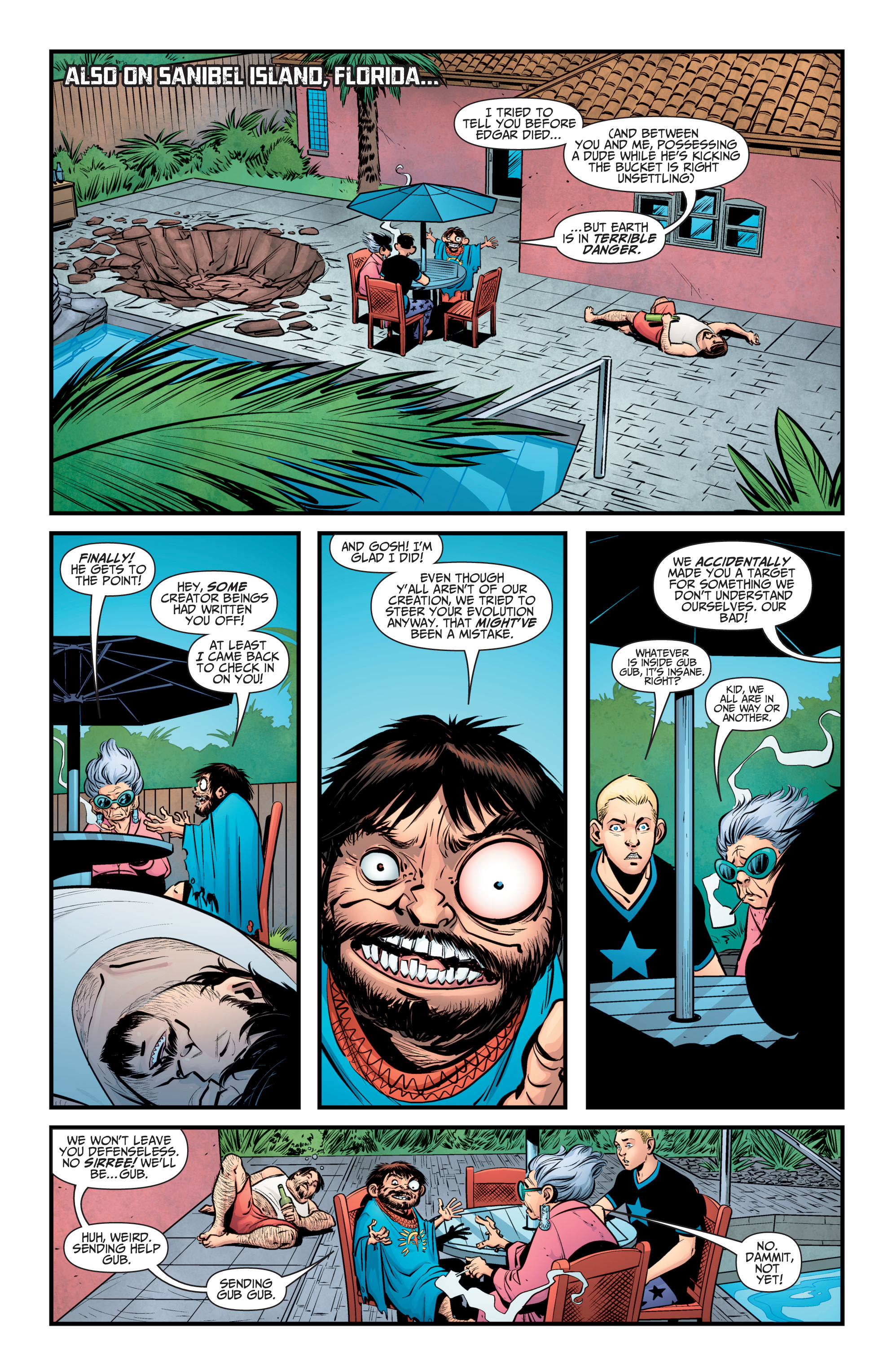 Read online A&A: The Adventures of Archer & Armstrong comic -  Issue #10 - 5