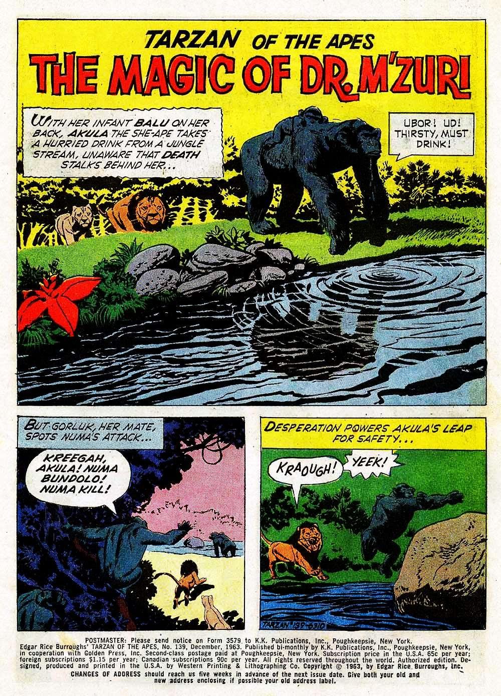 Tarzan (1962) issue 139 - Page 3