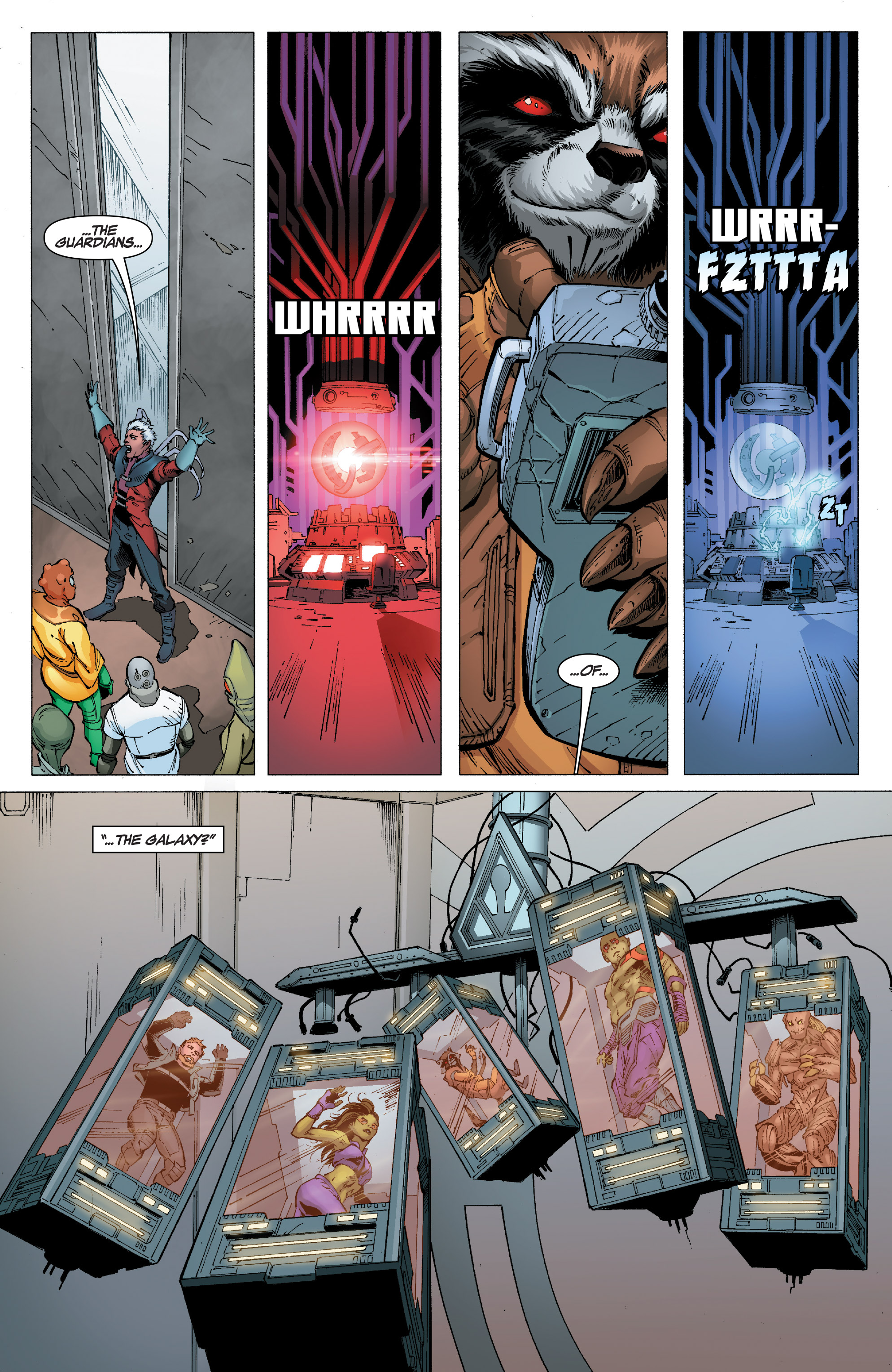 Read online Guardians of the Galaxy: Mission Breakout comic -  Issue # Full - 17