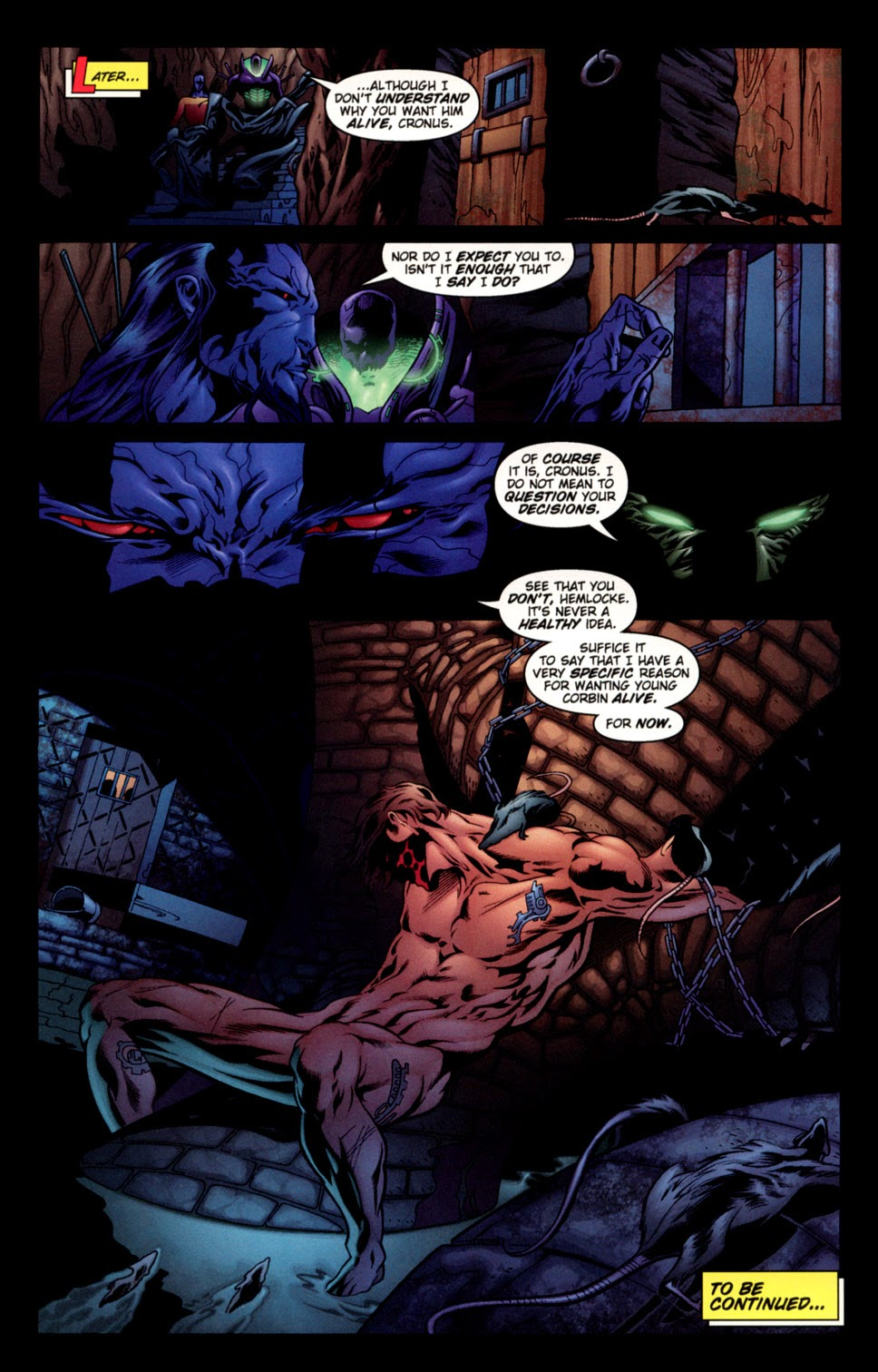 Read online C-23 comic -  Issue #3 - 23