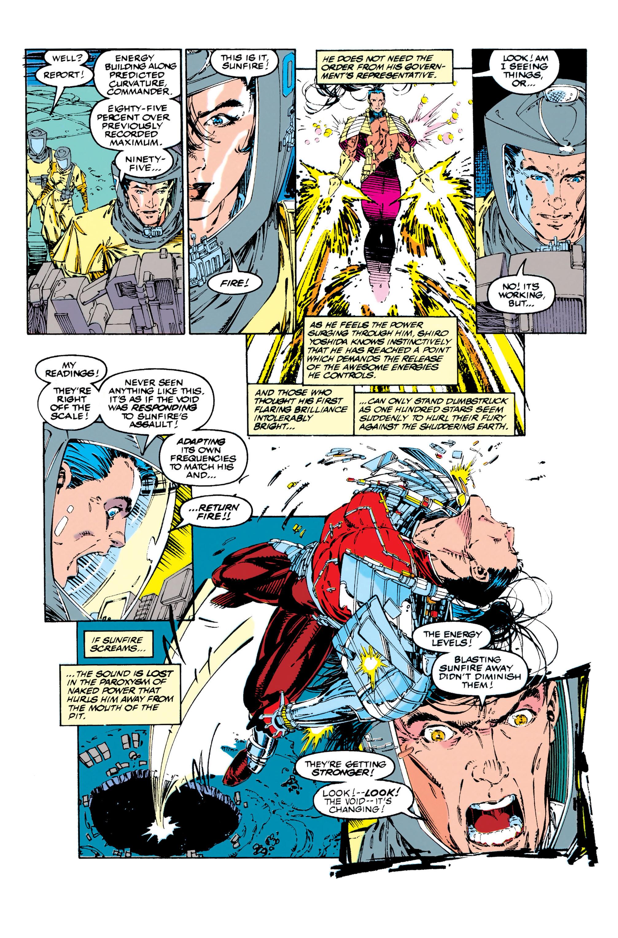 Read online Uncanny X-Men (1963) comic -  Issue #284 - 4