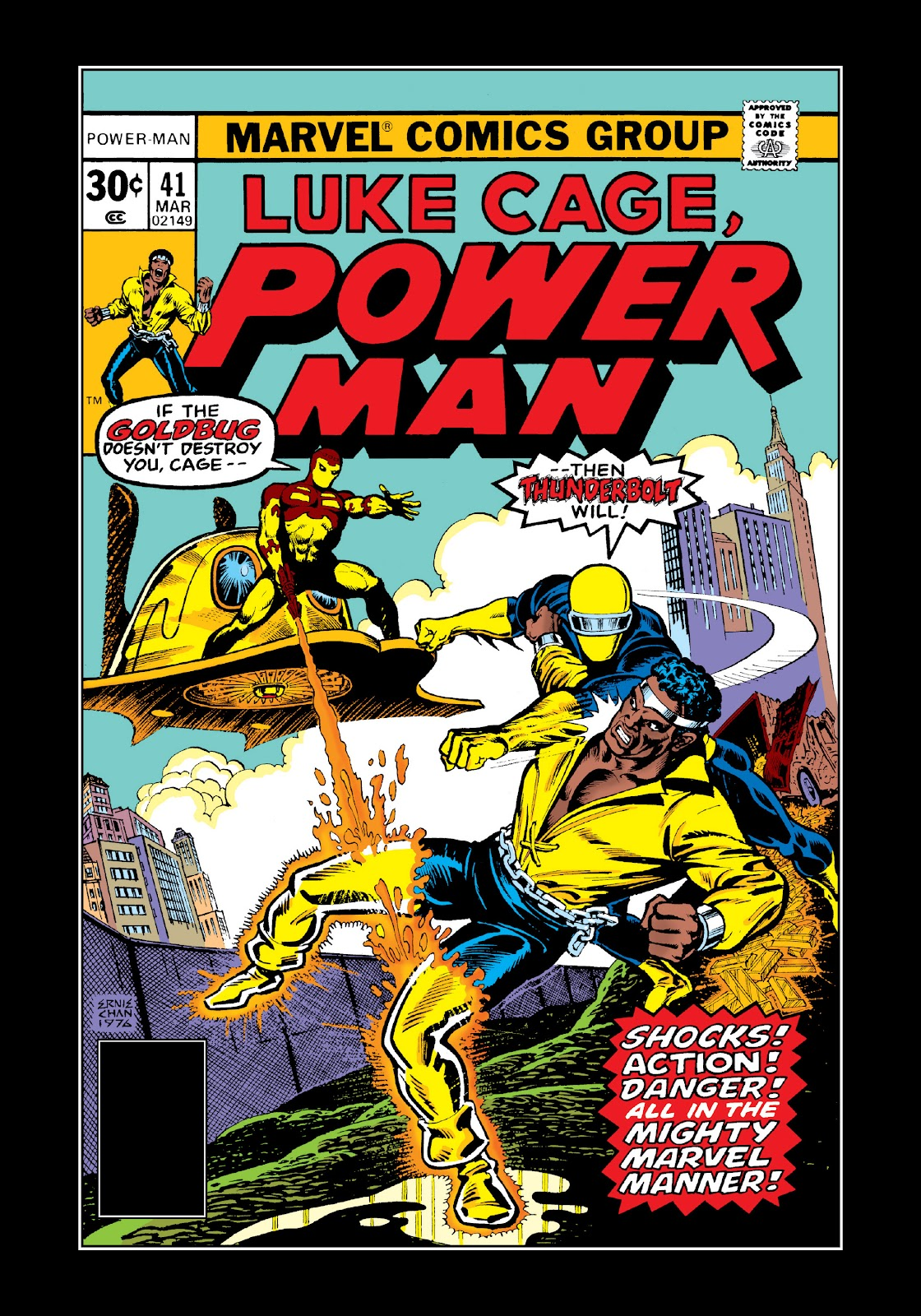 Read online Marvel Masterworks: Luke Cage, Power Man comic -  Issue # TPB 3 (Part 2) - 91