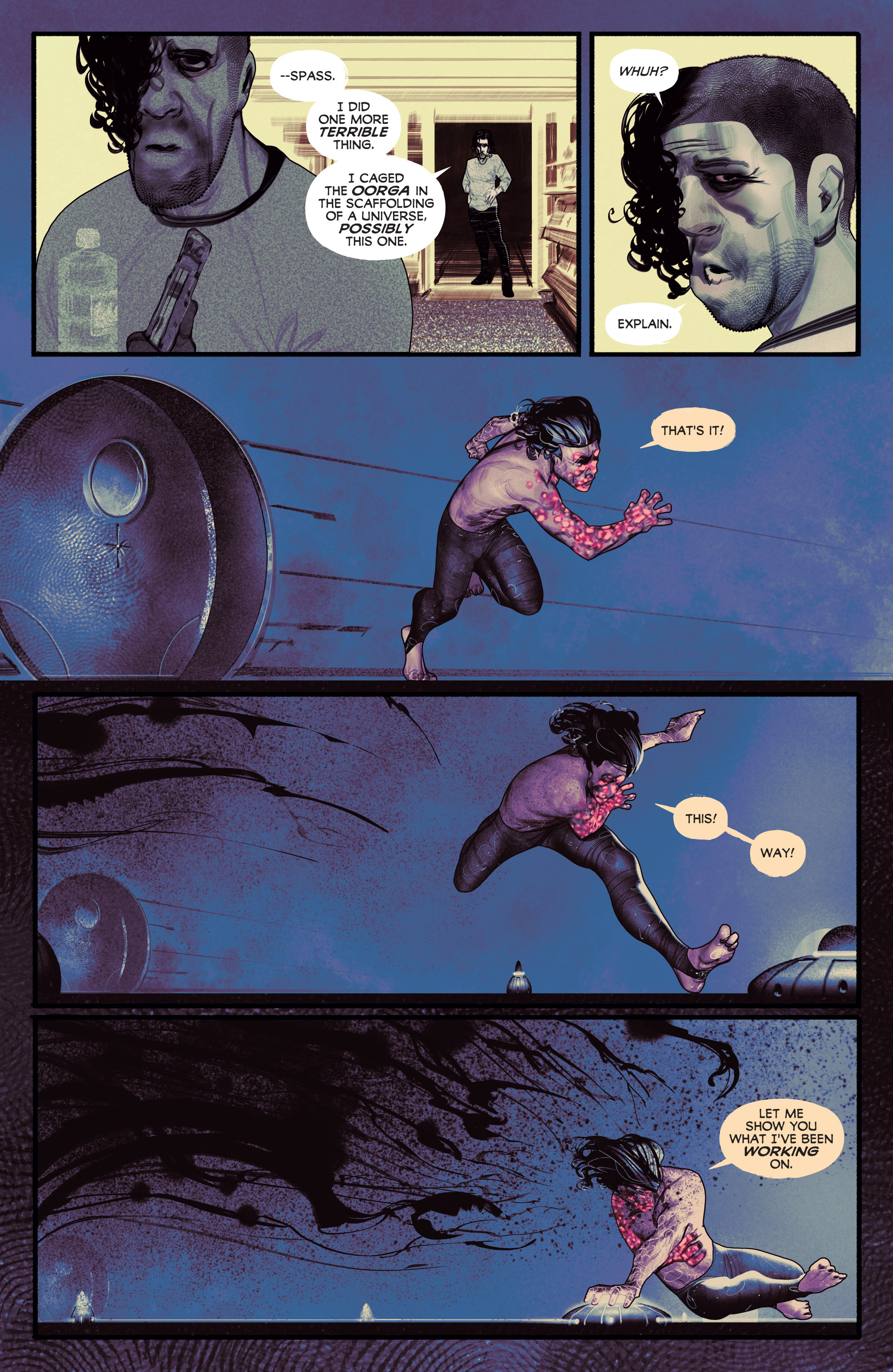 Read online Annihilator comic -  Issue #5 - 23