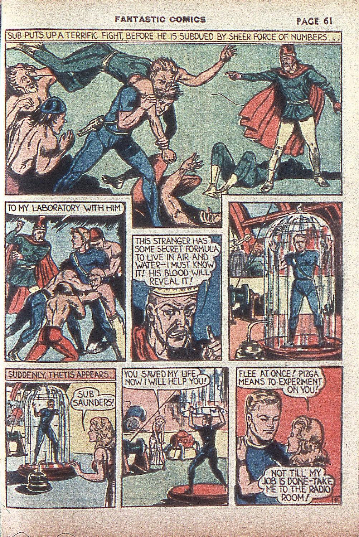 Read online Fantastic Comics comic -  Issue #4 - 62