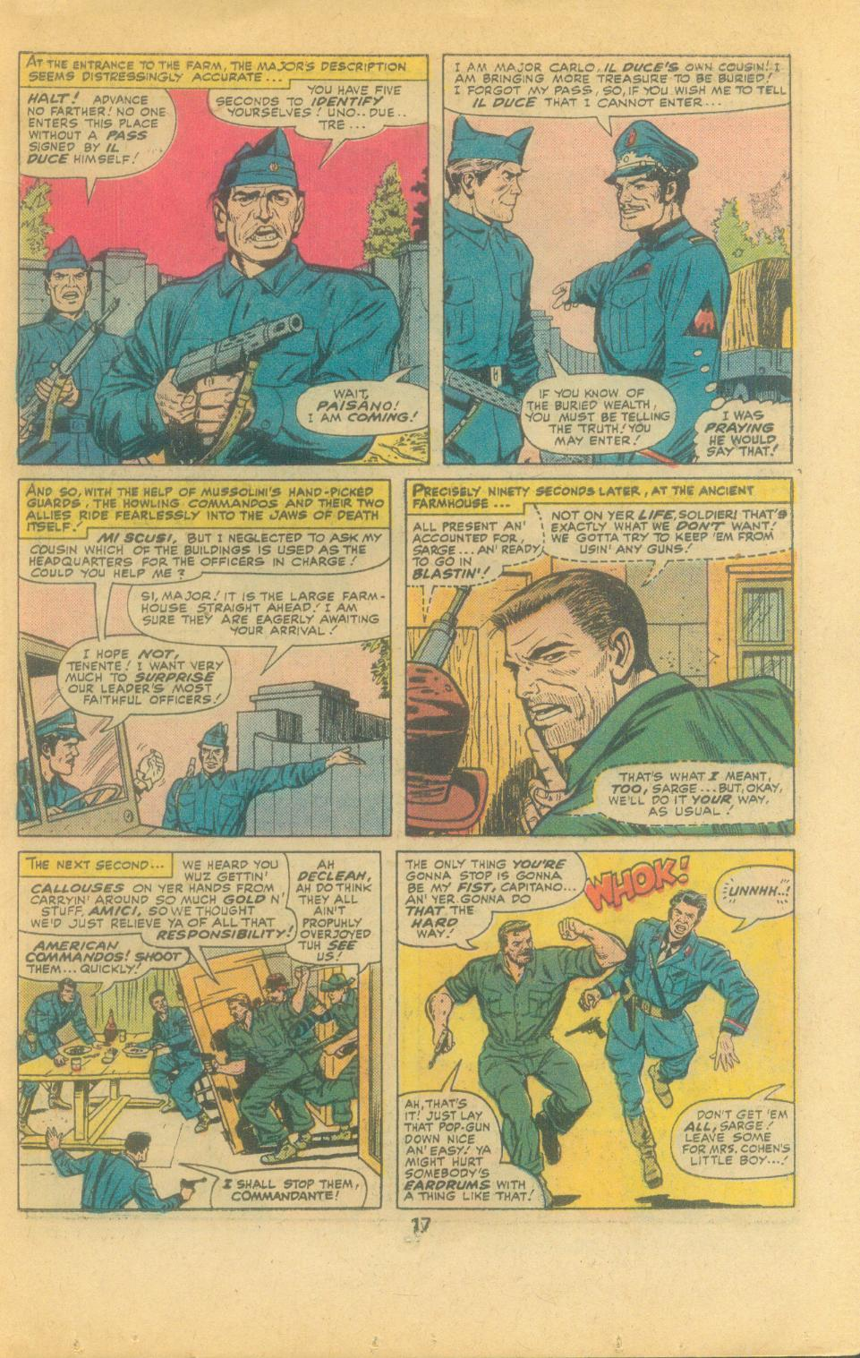 Read online Sgt. Fury comic -  Issue #132 - 19