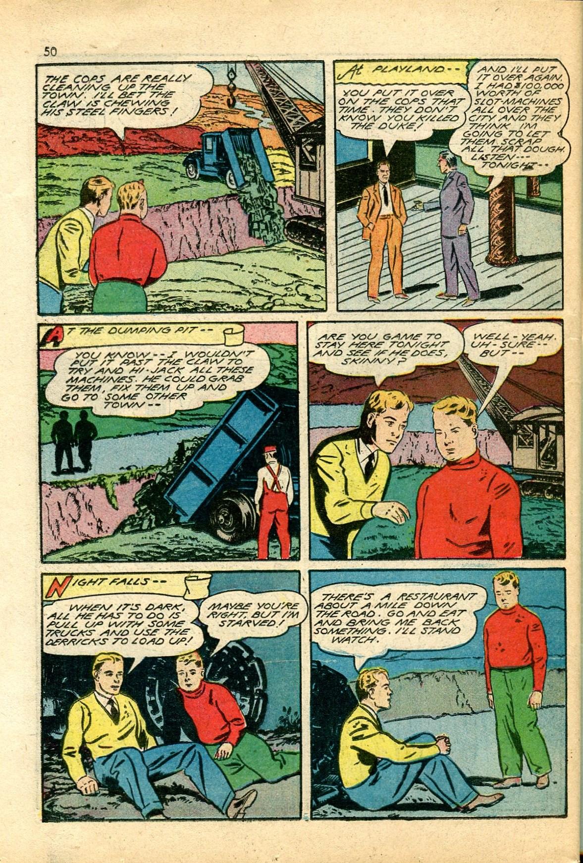 Read online Shadow Comics comic -  Issue #24 - 42