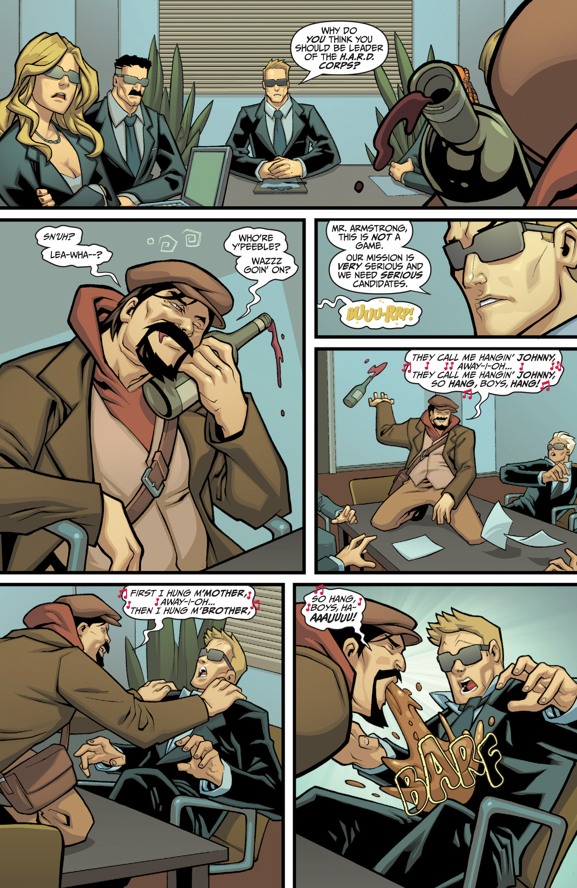Read online Archer and Armstrong comic -  Issue #11 - 31