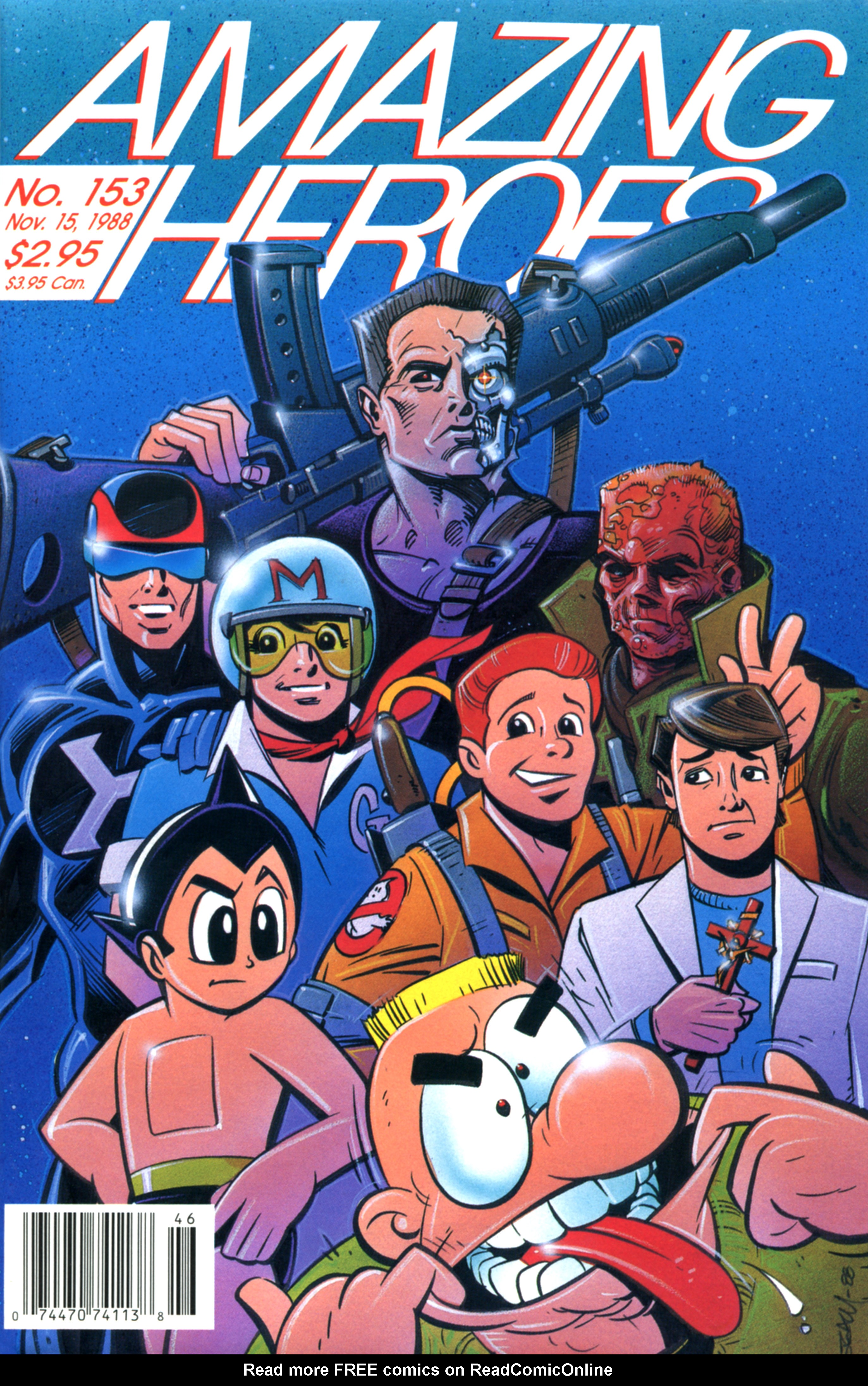 Read online Amazing Heroes comic -  Issue #153 - 1