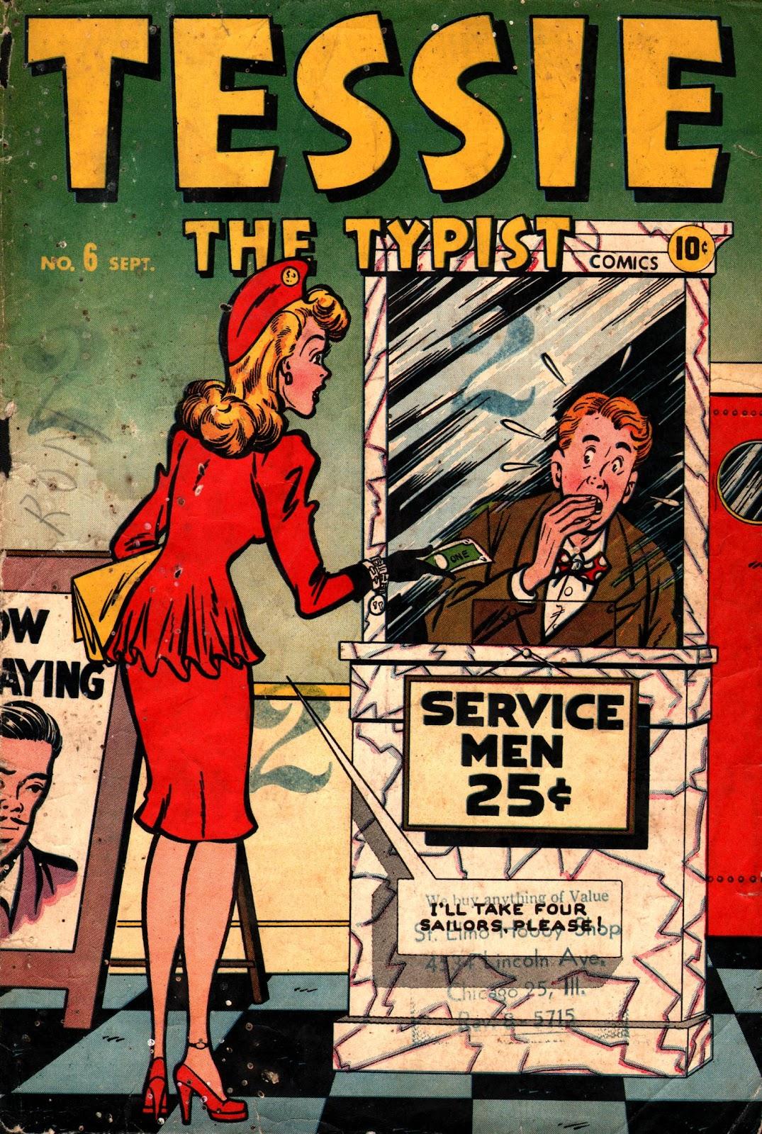 Tessie the Typist issue 6 - Page 1