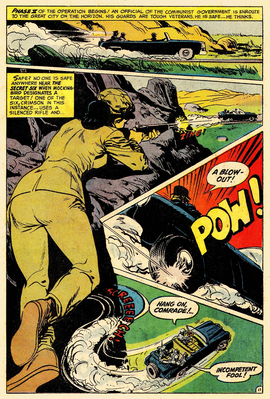 Read online Secret Six (1968) comic -  Issue #4 - 15