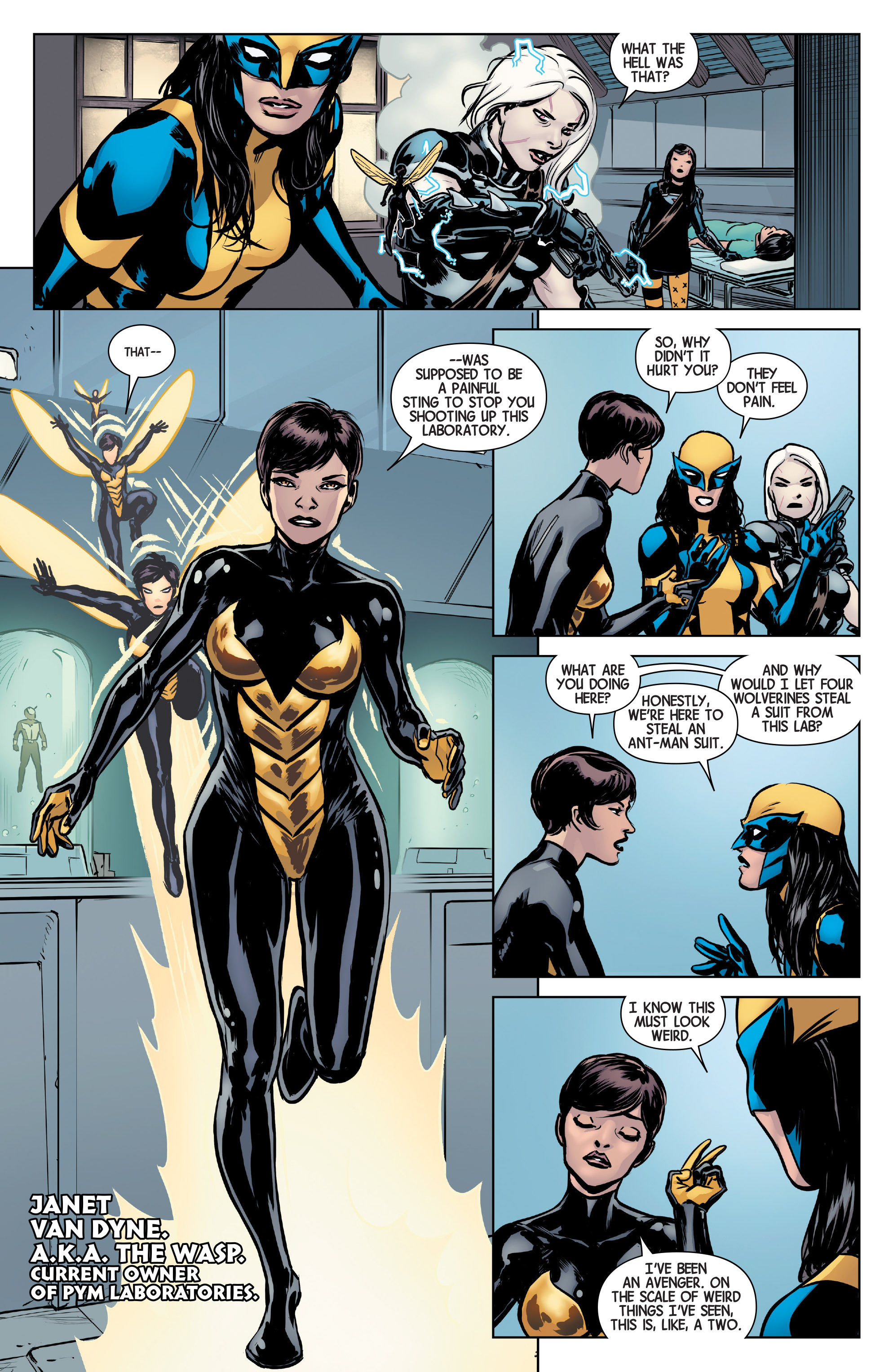 Read online All-New Wolverine (2016) comic -  Issue #5 - 4
