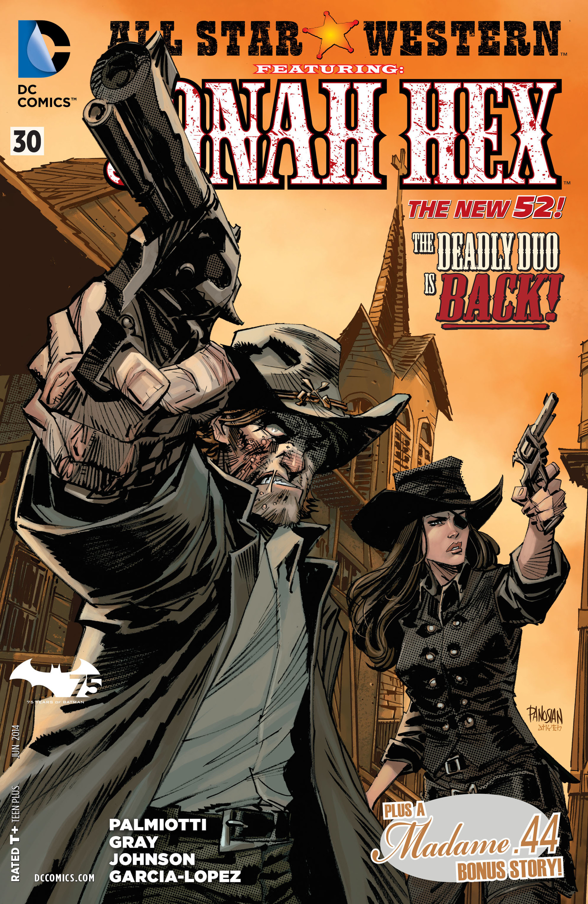 Read online All-Star Western (2011) comic -  Issue #30 - 1