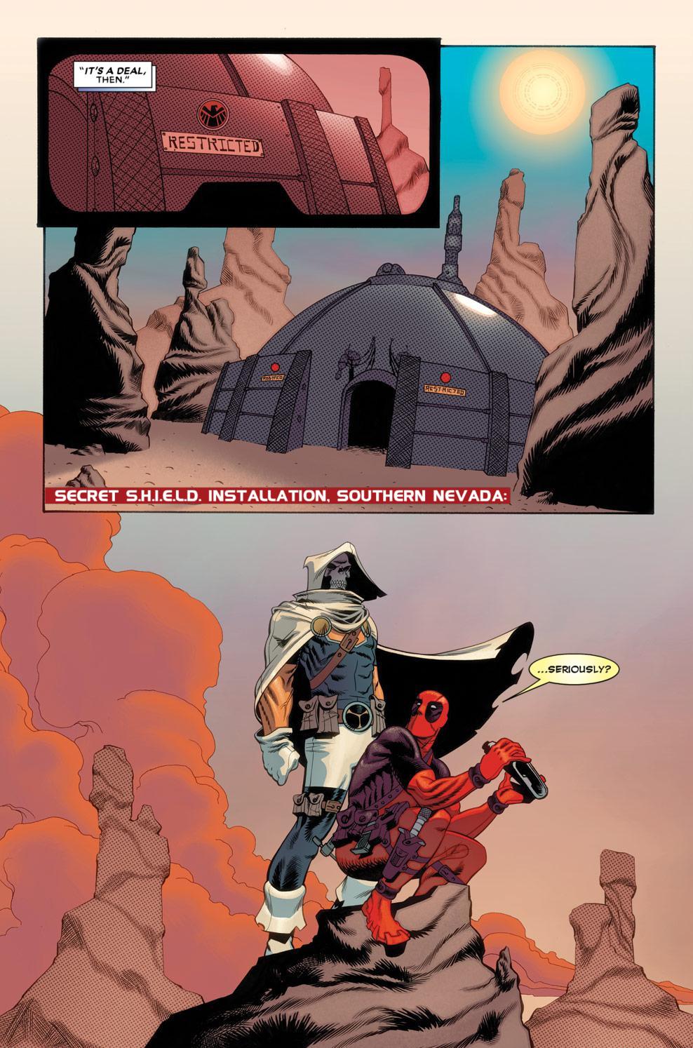 Read online Deadpool (2008) comic -  Issue #56 - 7