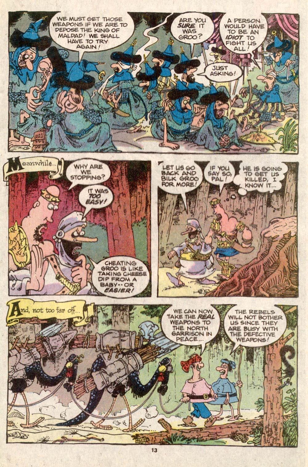 Read online Sergio Aragonés Groo the Wanderer comic -  Issue #31 - 12