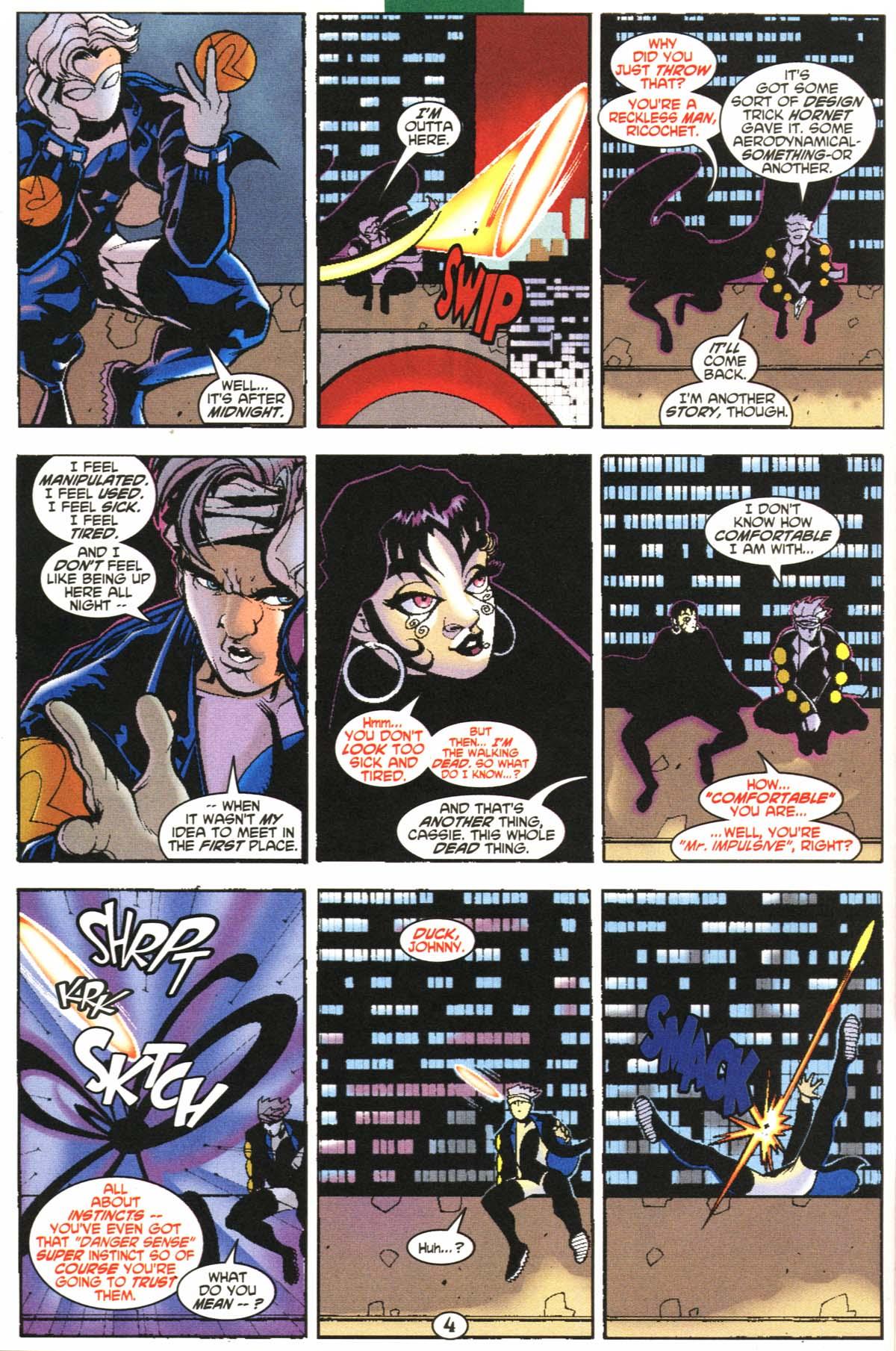 Read online Slingers comic -  Issue #6 - 5