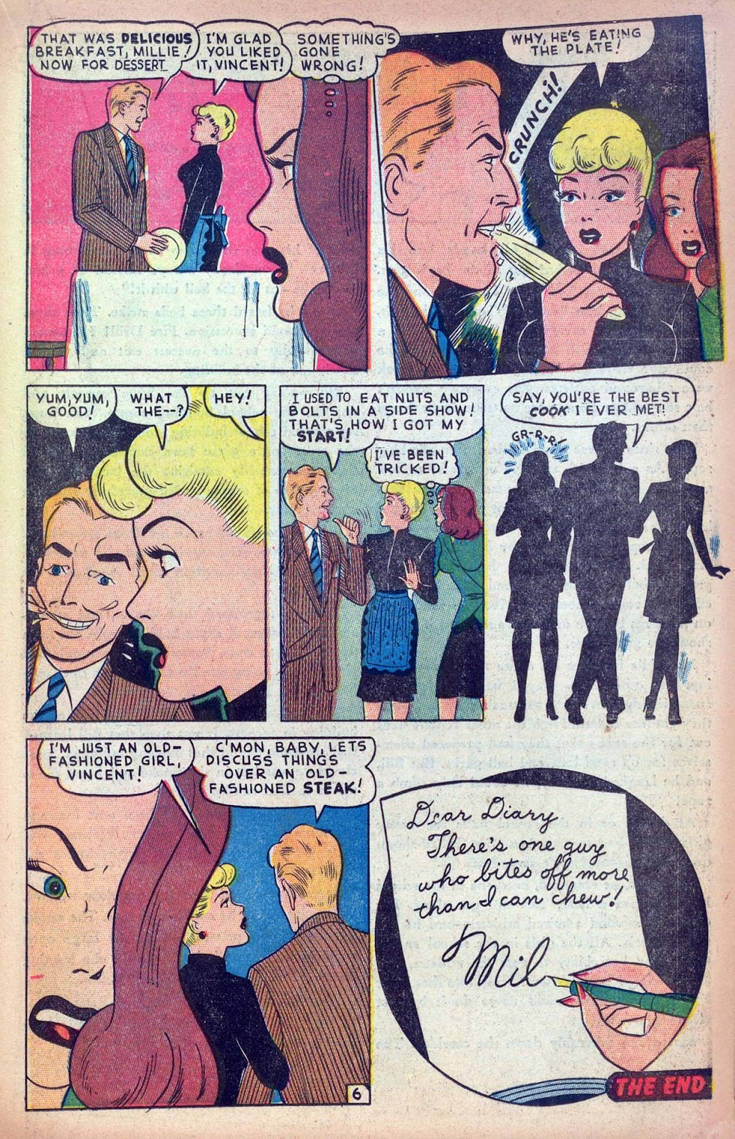 Read online Millie the Model comic -  Issue #13 - 21