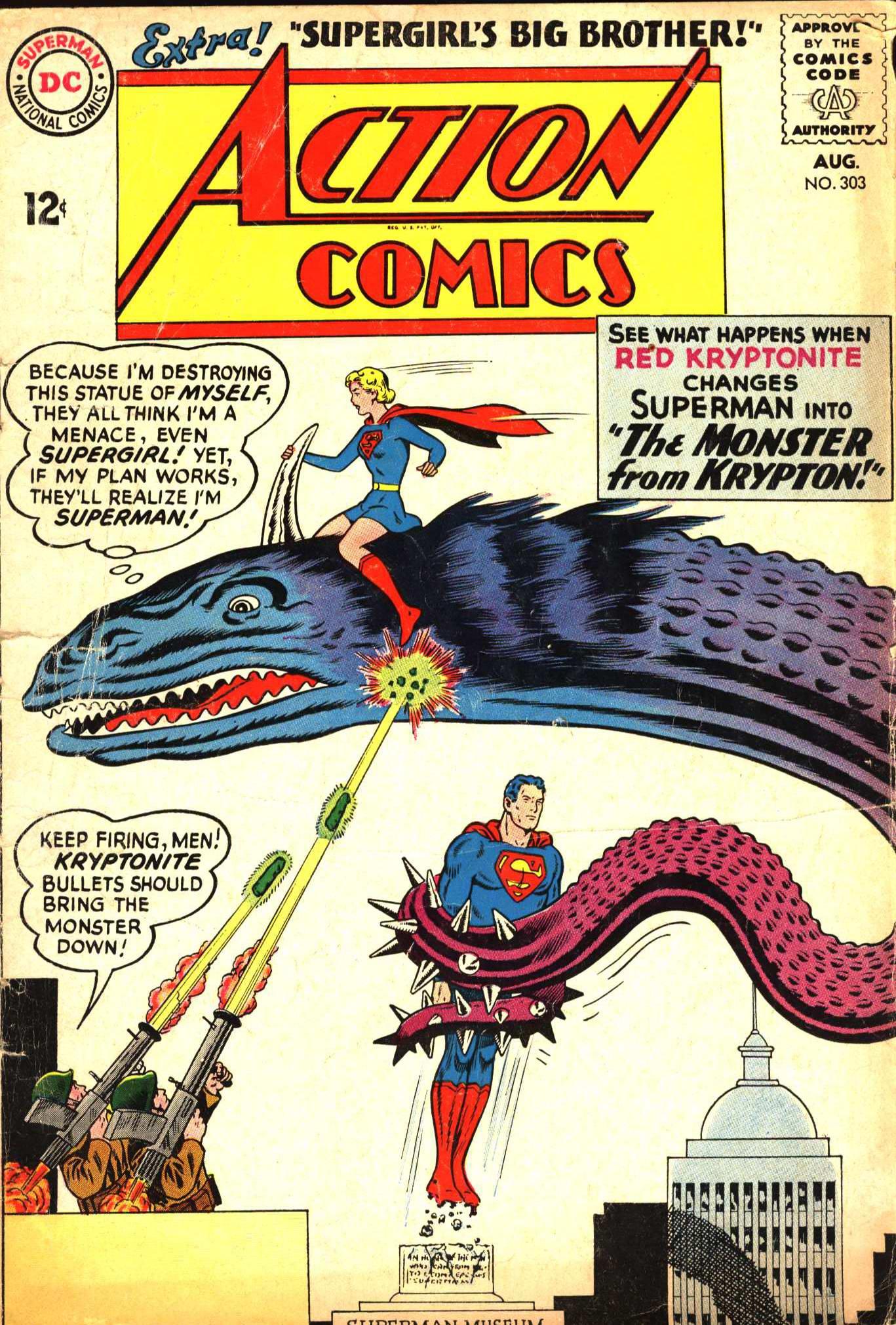 Action Comics (1938) 303 Page 0