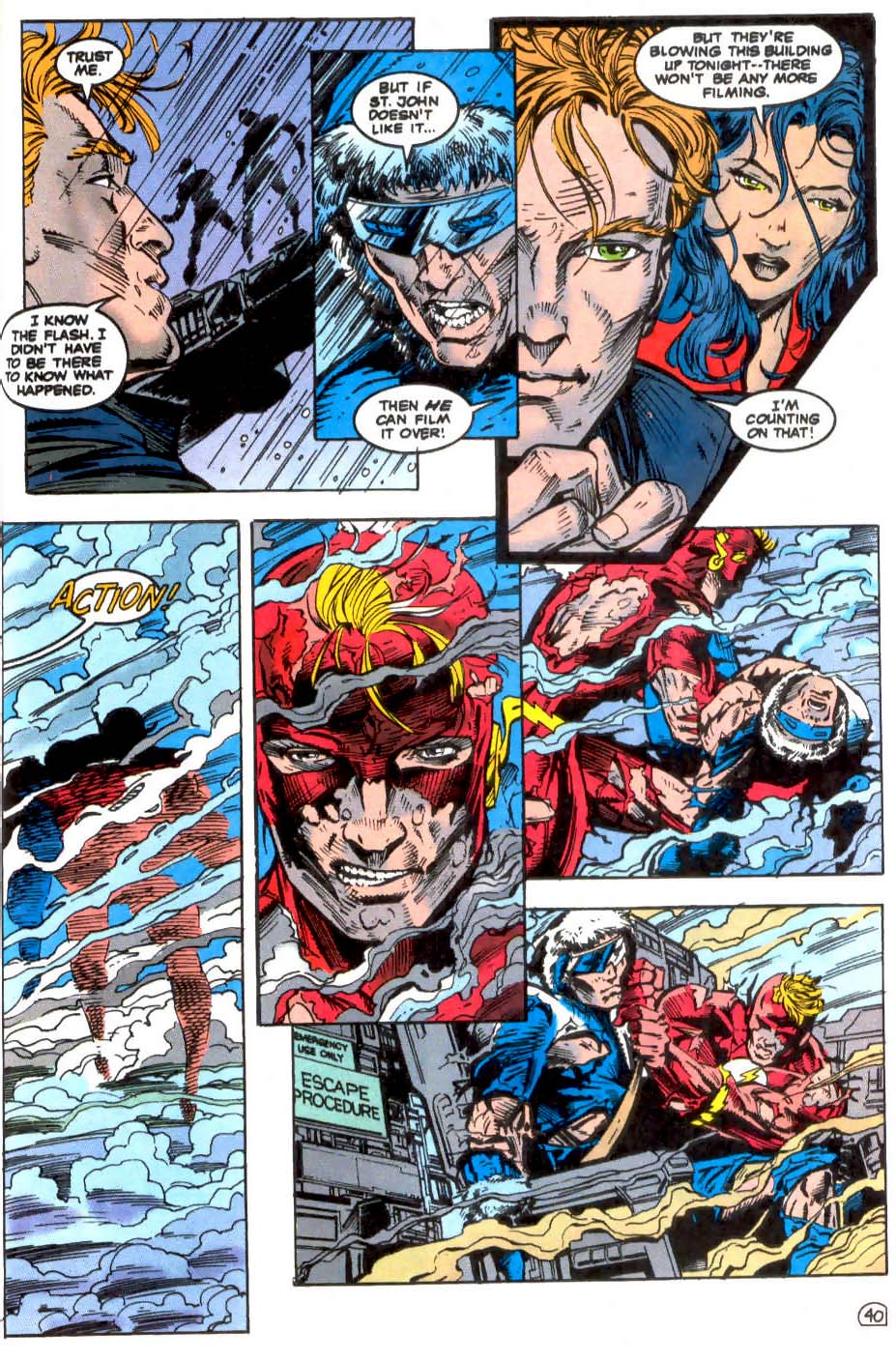 Read online The Flash (1987) comic -  Issue # _Annual 7 - 41