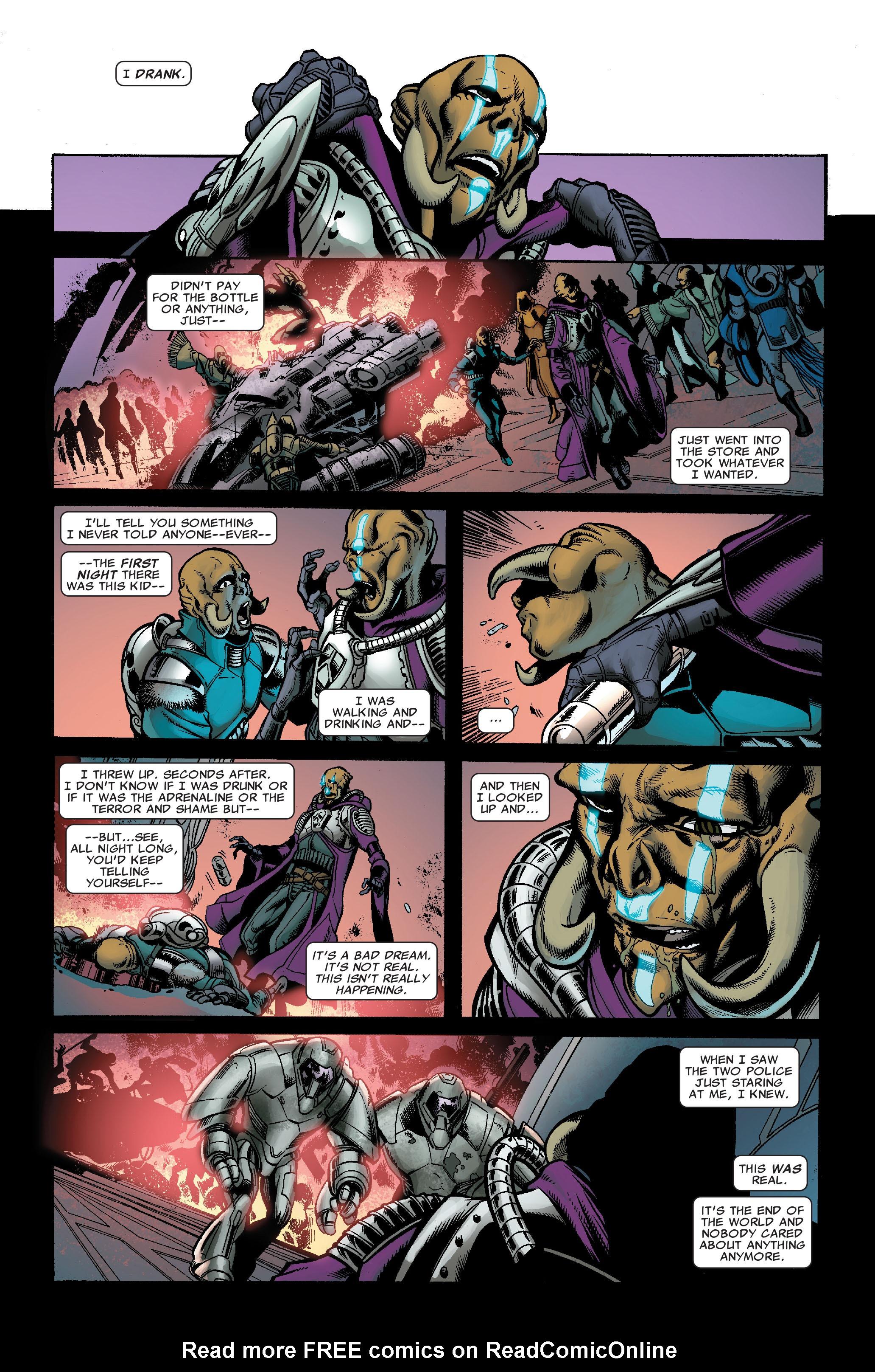 Read online Uncanny X-Men (1963) comic -  Issue #522 - 28