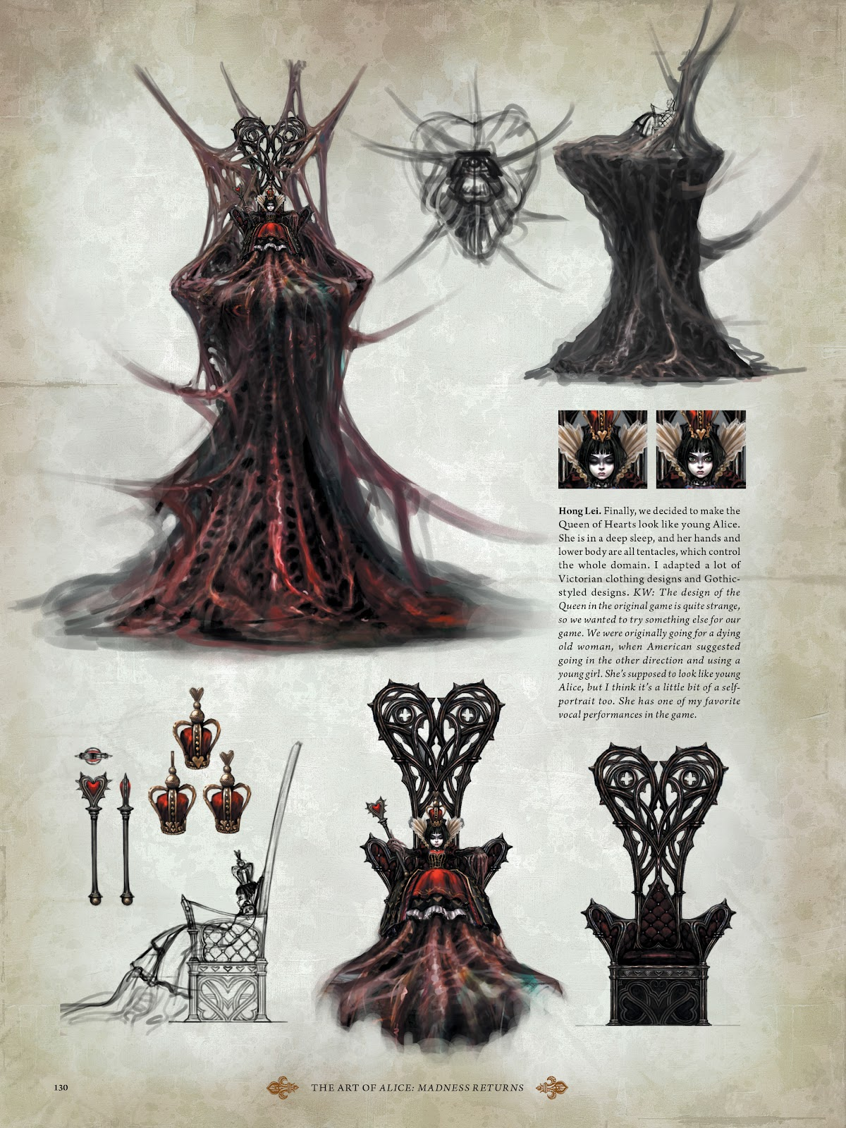 Read online The Art of Alice: Madness Returns comic -  Issue # TPB (Part 2) - 26