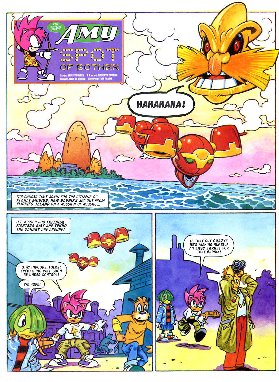 Read online Sonic the Comic comic -  Issue #108 - 23
