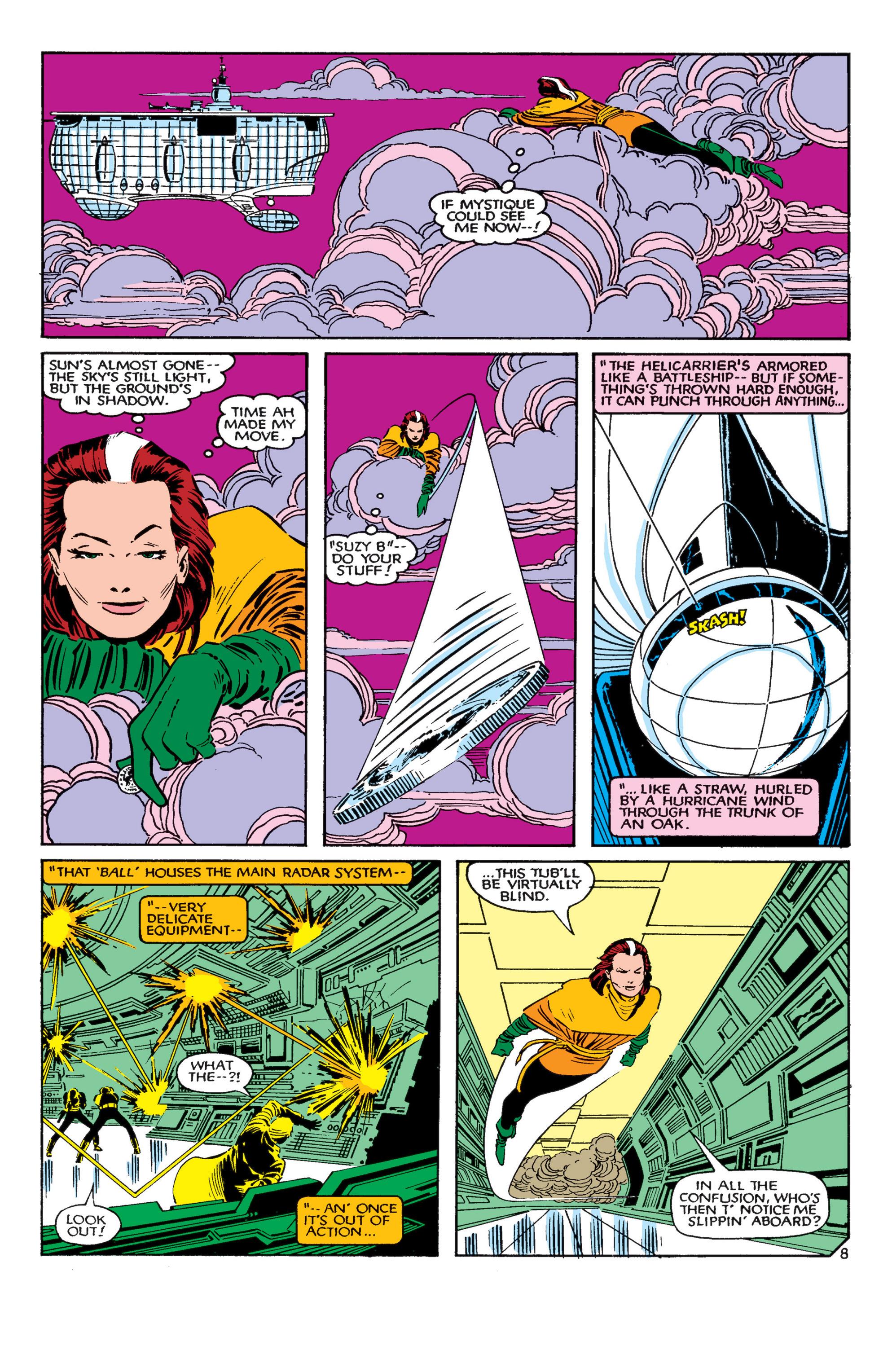 Read online Uncanny X-Men (1963) comic -  Issue #182 - 9