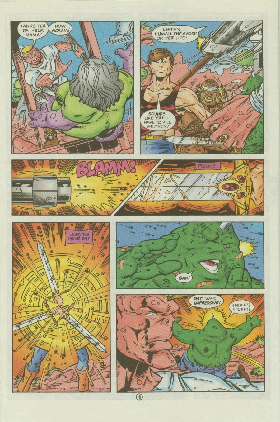 Read online Ex-Mutants comic -  Issue #9 - 20