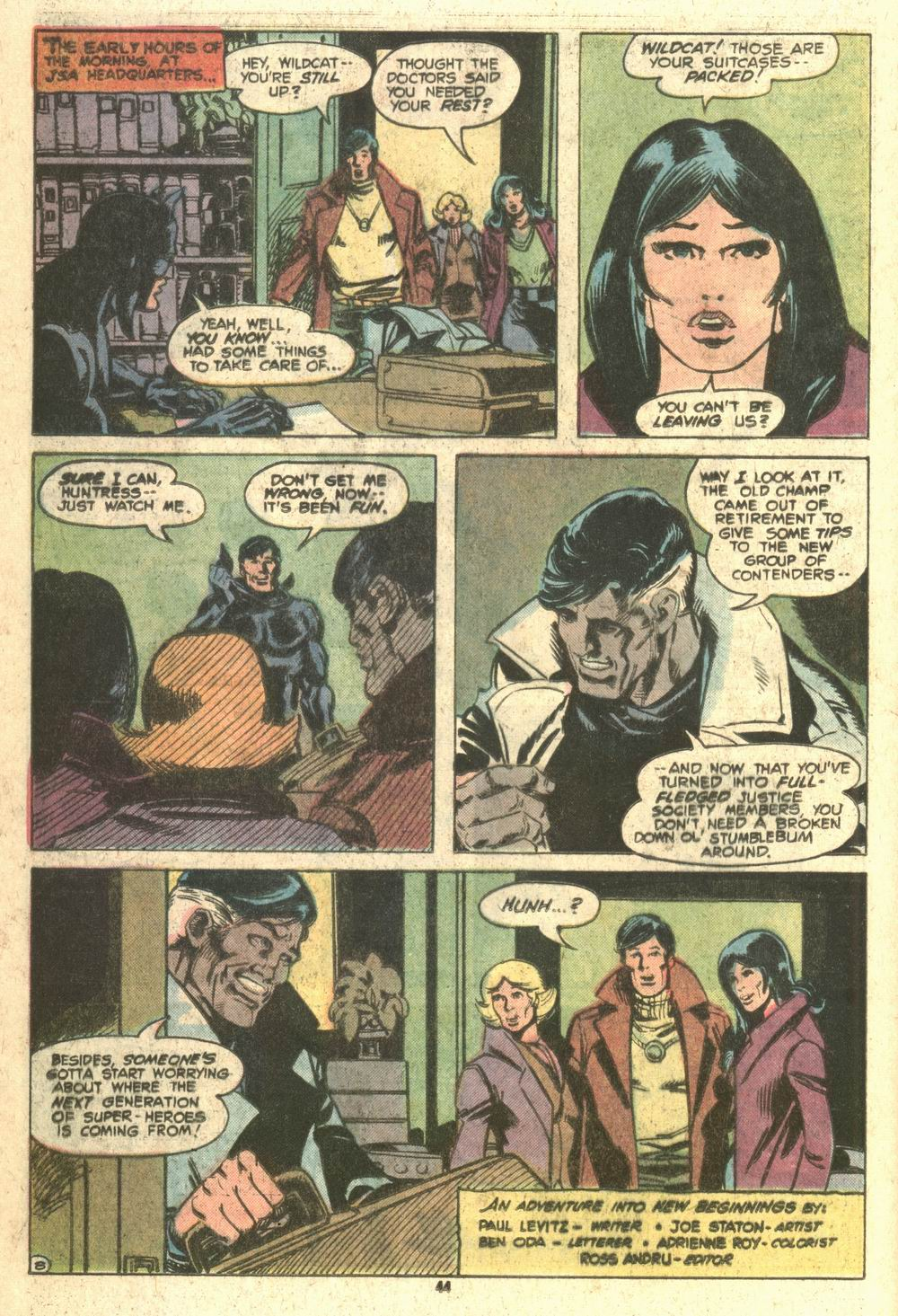 Read online Adventure Comics (1938) comic -  Issue #464 - 44