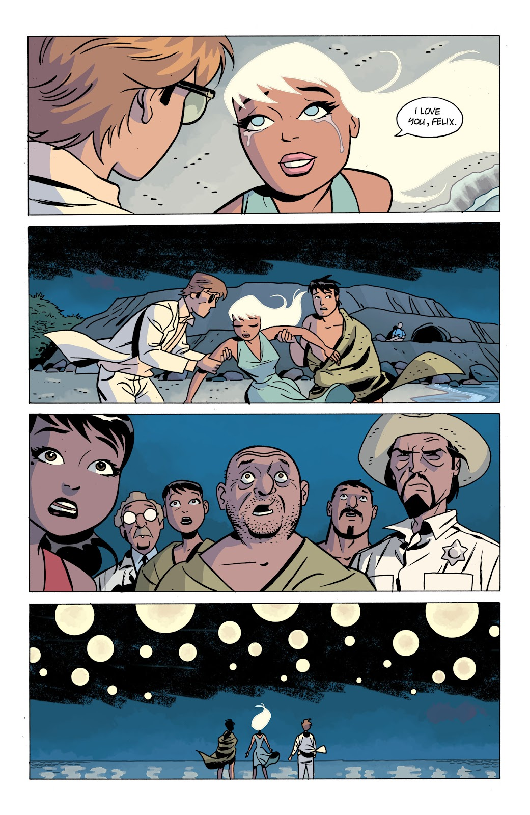 Read online The Twilight Children comic -  Issue #4 - 19