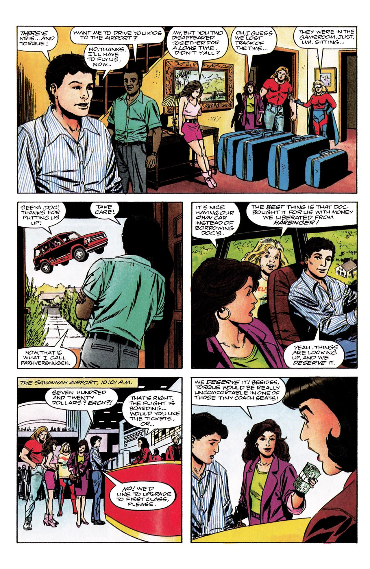 Read online Harbinger (1992) comic -  Issue #3 - 4