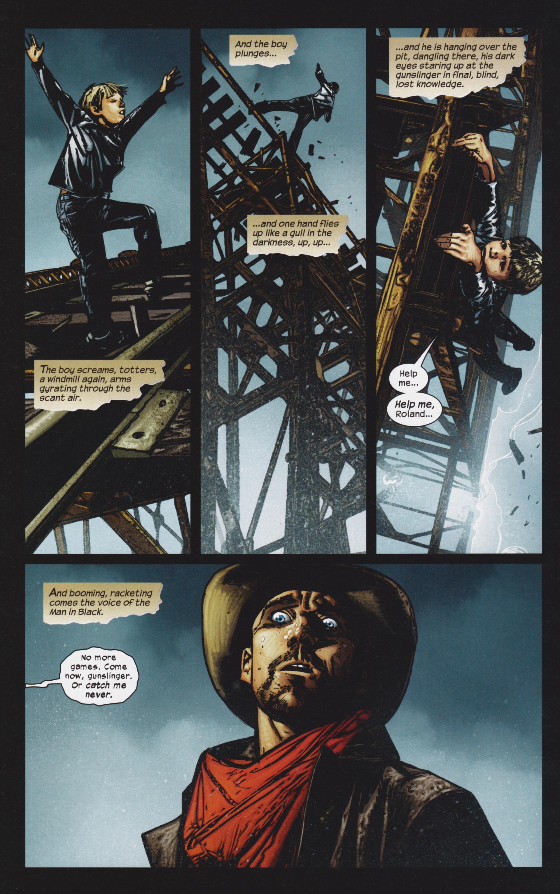 Read online Dark Tower: The Gunslinger - The Man in Black comic -  Issue #4 - 21
