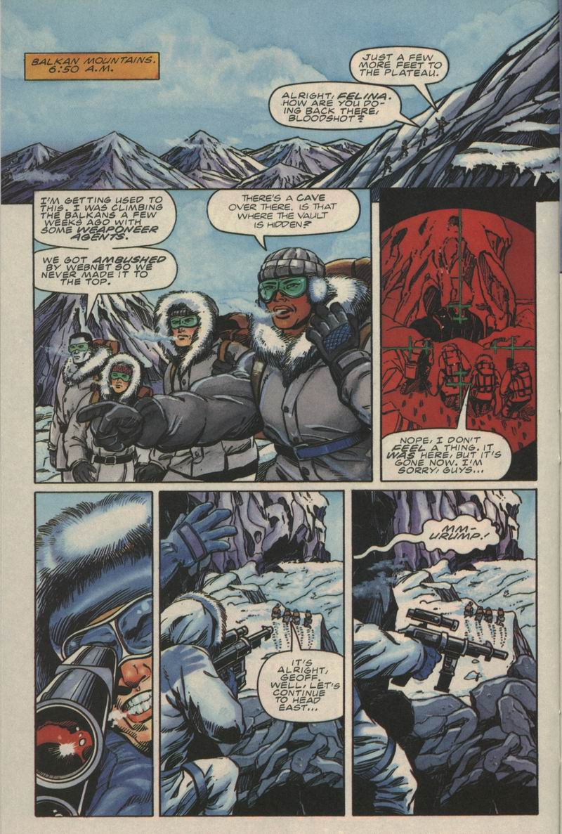 Read online Secret Weapons comic -  Issue #9 - 12