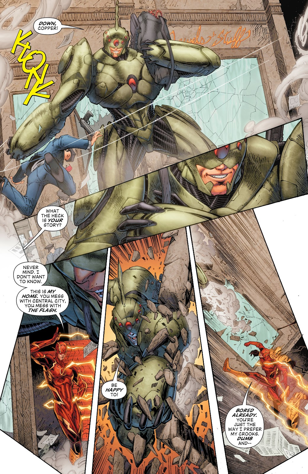 Read online The Flash (2011) comic -  Issue # _TPB 8 (Part 1) - 19