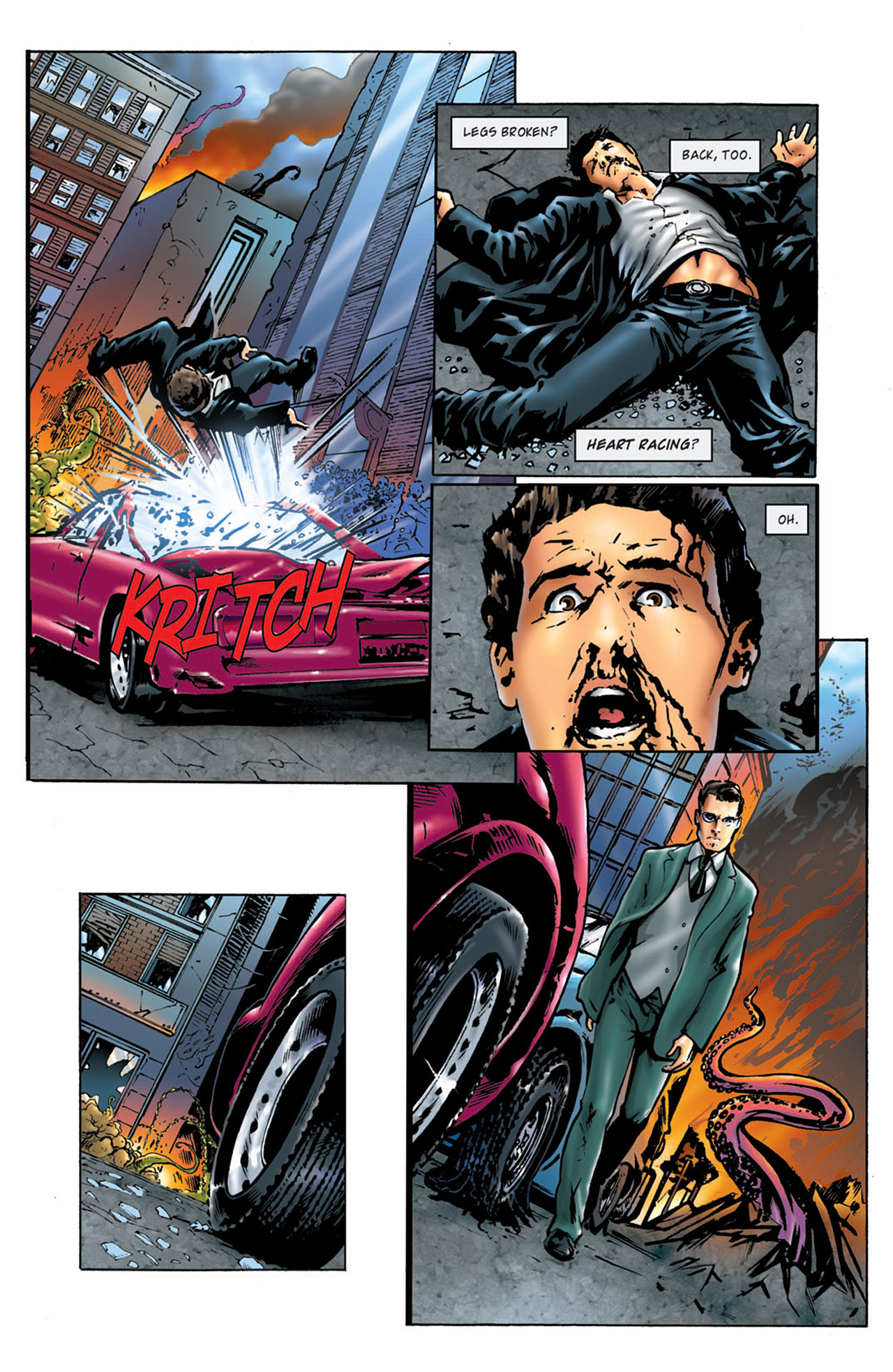 Read online Angel: After The Fall comic -  Issue #4 - 7