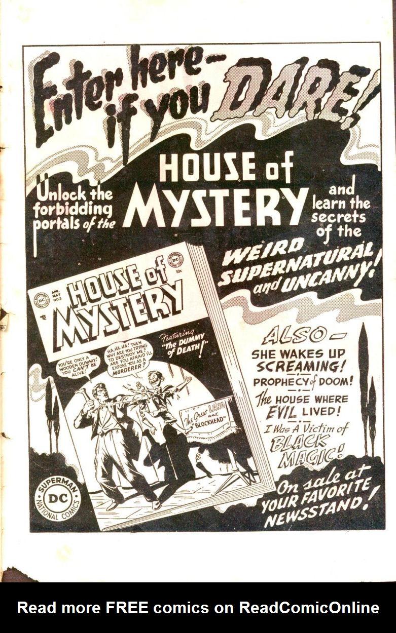 Read online Sensation (Mystery) Comics comic -  Issue #109 - 35
