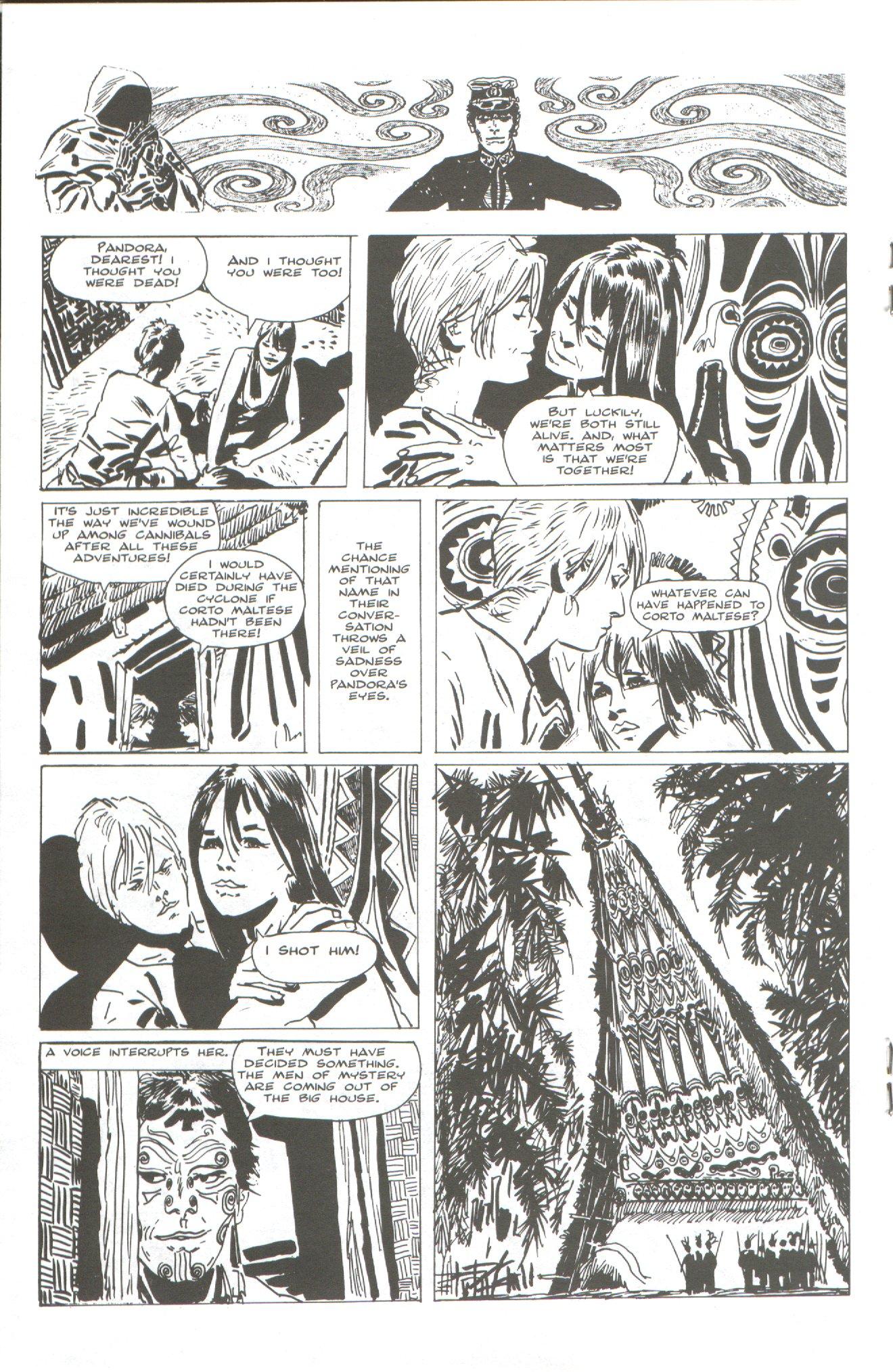Read online Corto Maltese: Ballad of the Salt Sea comic -  Issue #2 - 14