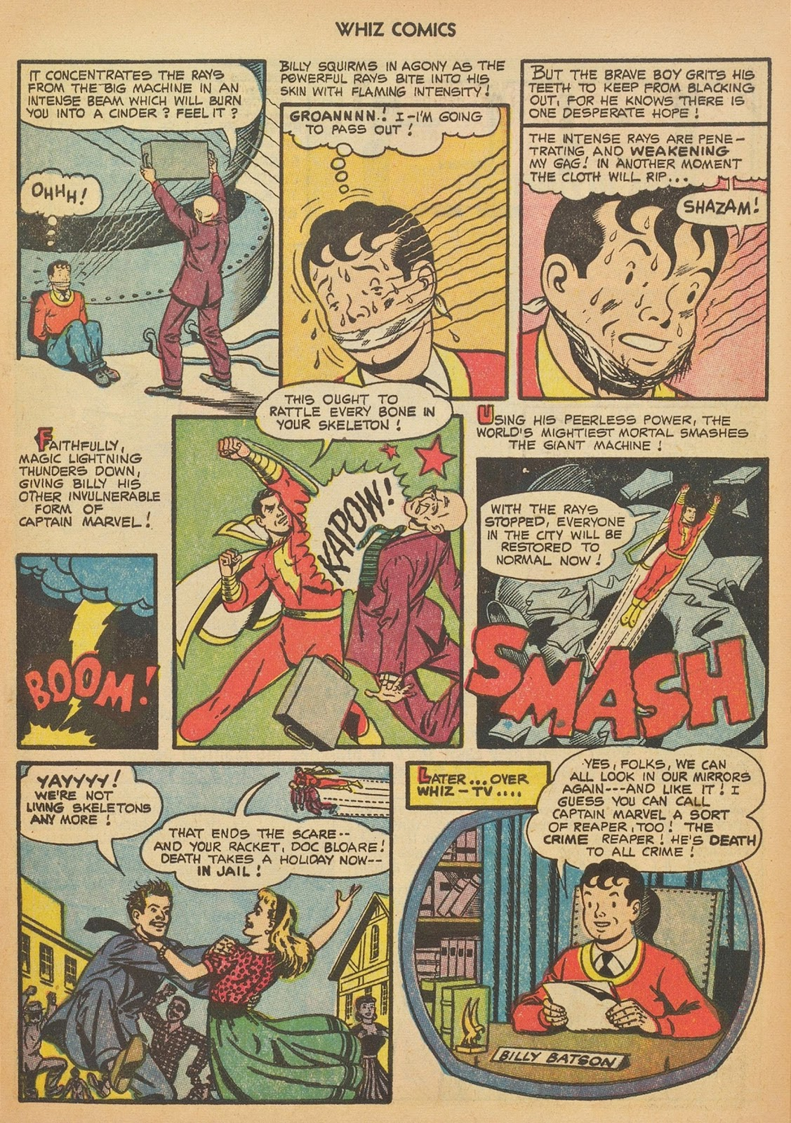 Read online WHIZ Comics comic -  Issue #153 - 9
