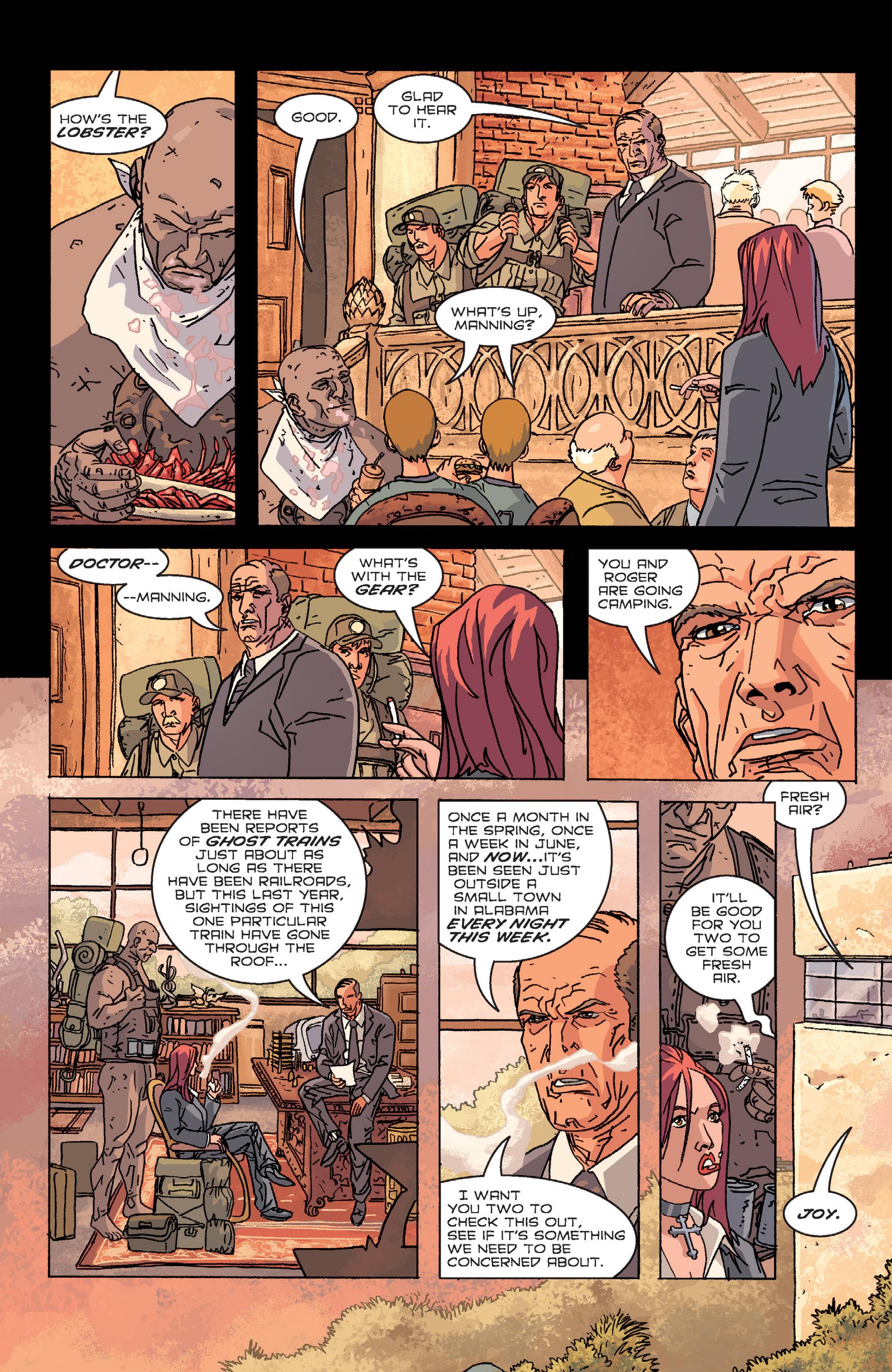 Read online B.P.R.D. (2003) comic -  Issue # TPB 2 - 68