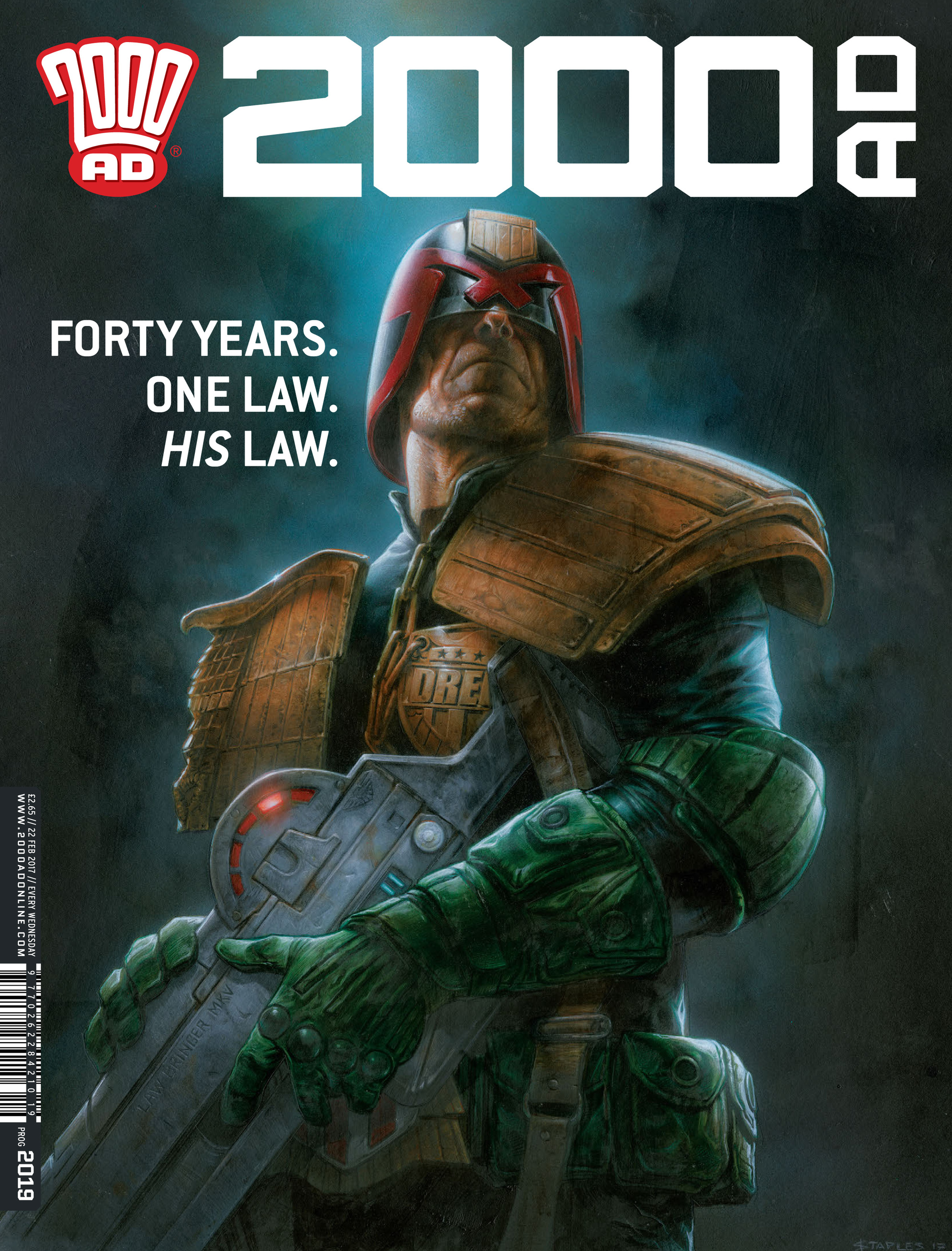 Read online 2000 AD comic -  Issue #2019 - 1