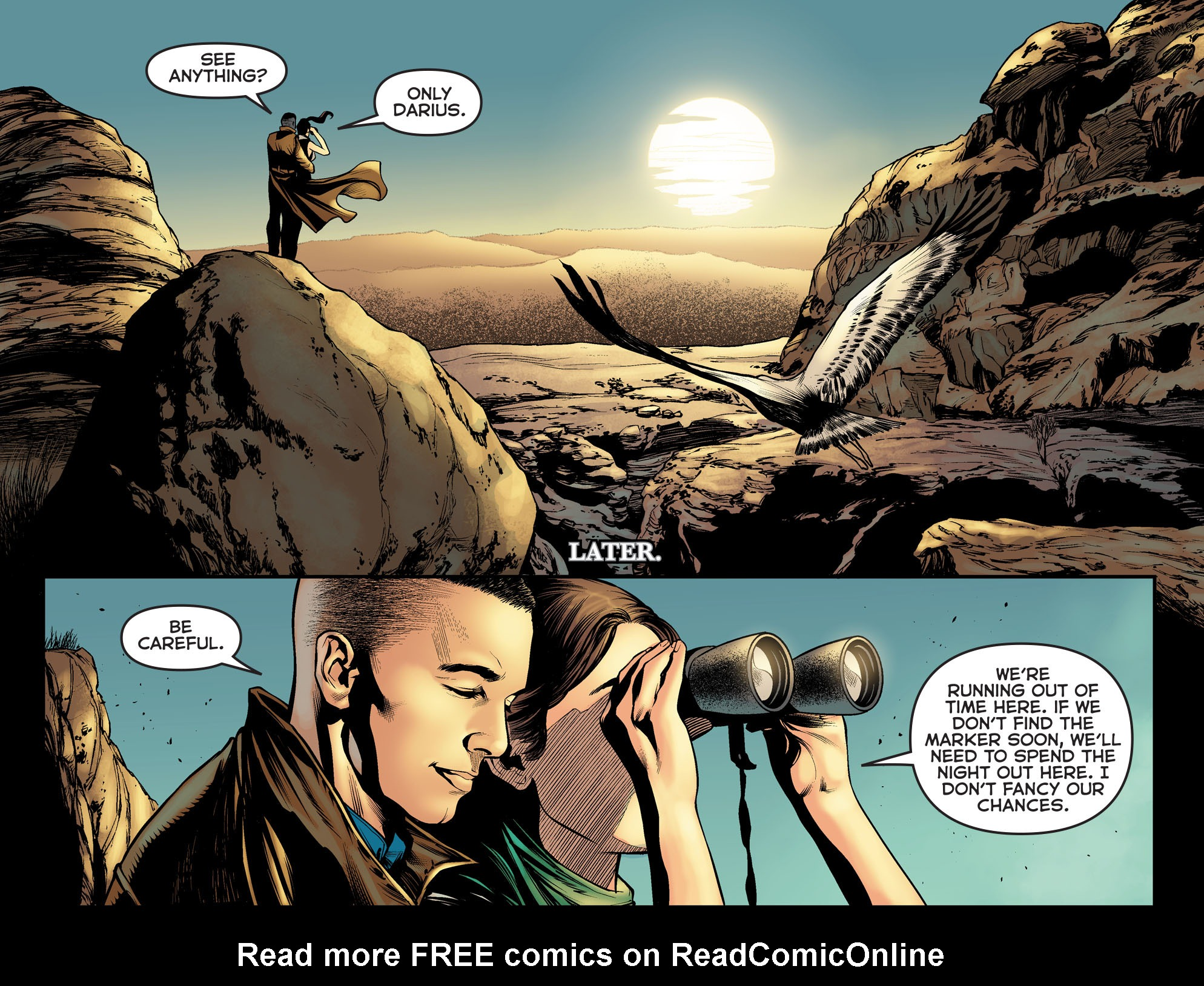 Read online Arrow: The Dark Archer comic -  Issue #5 - 15