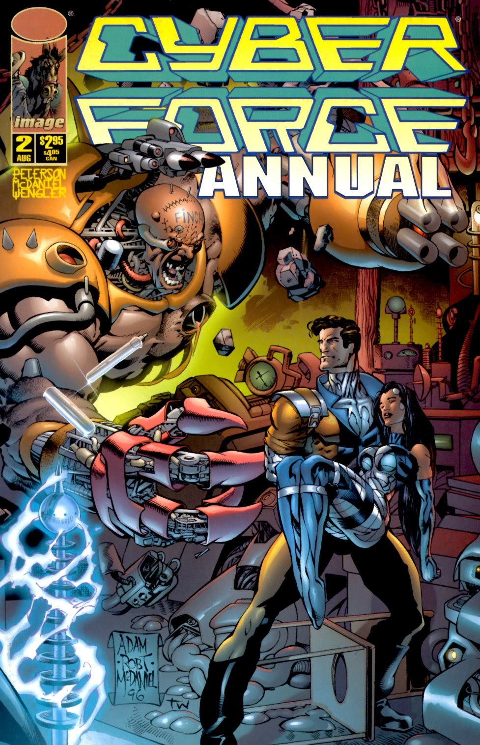Read online Cyberforce (1993) comic -  Issue # Annual 2 - 1