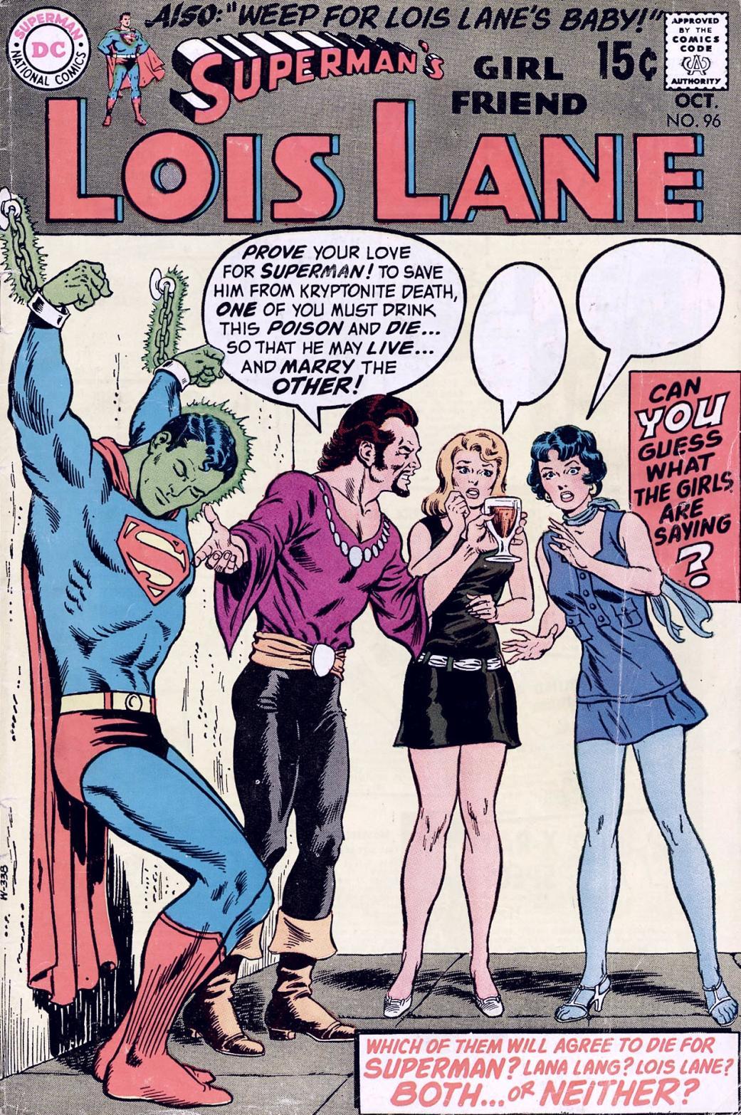 Supermans Girl Friend, Lois Lane 96 Page 1