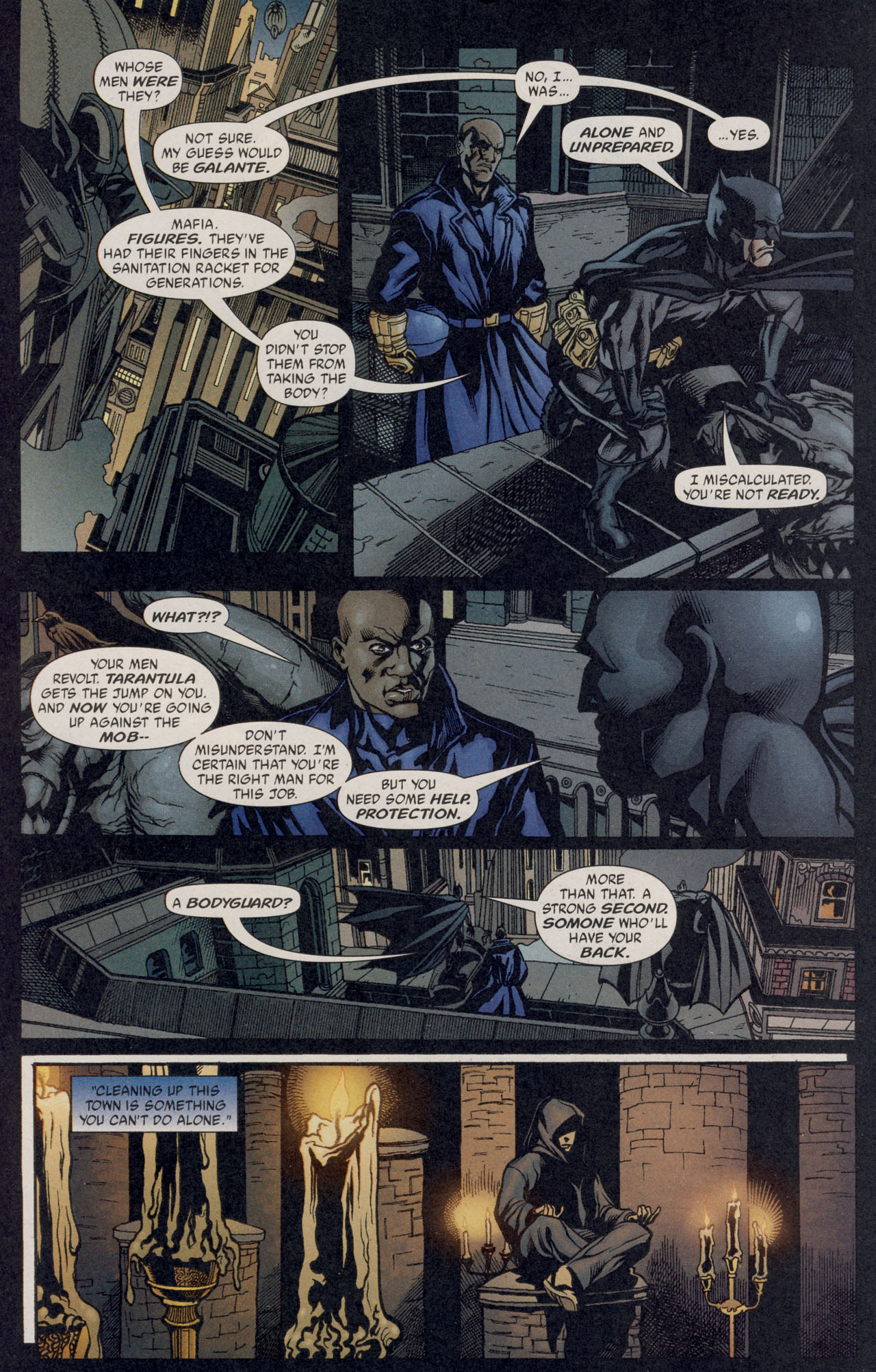 Read online Batman War Drums comic -  Issue # TPB - 139