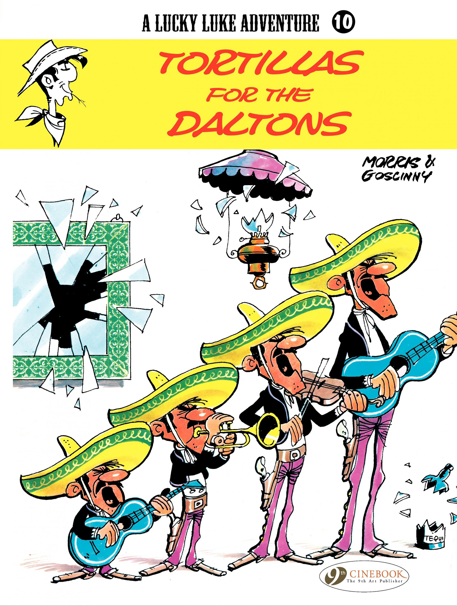 Read online A Lucky Luke Adventure comic -  Issue #10 - 1