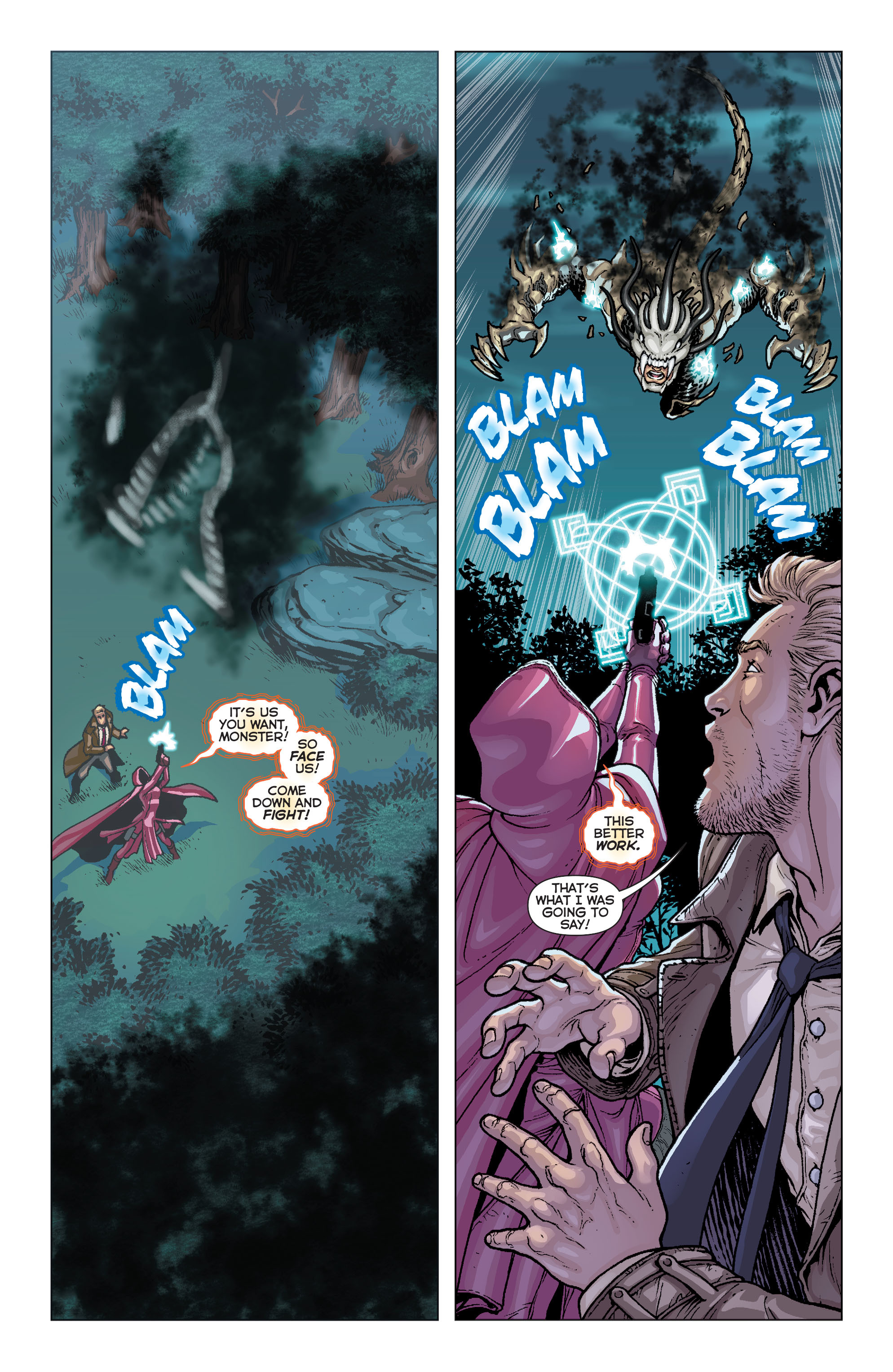 Read online Trinity of Sin: Pandora comic -  Issue #6 - 15