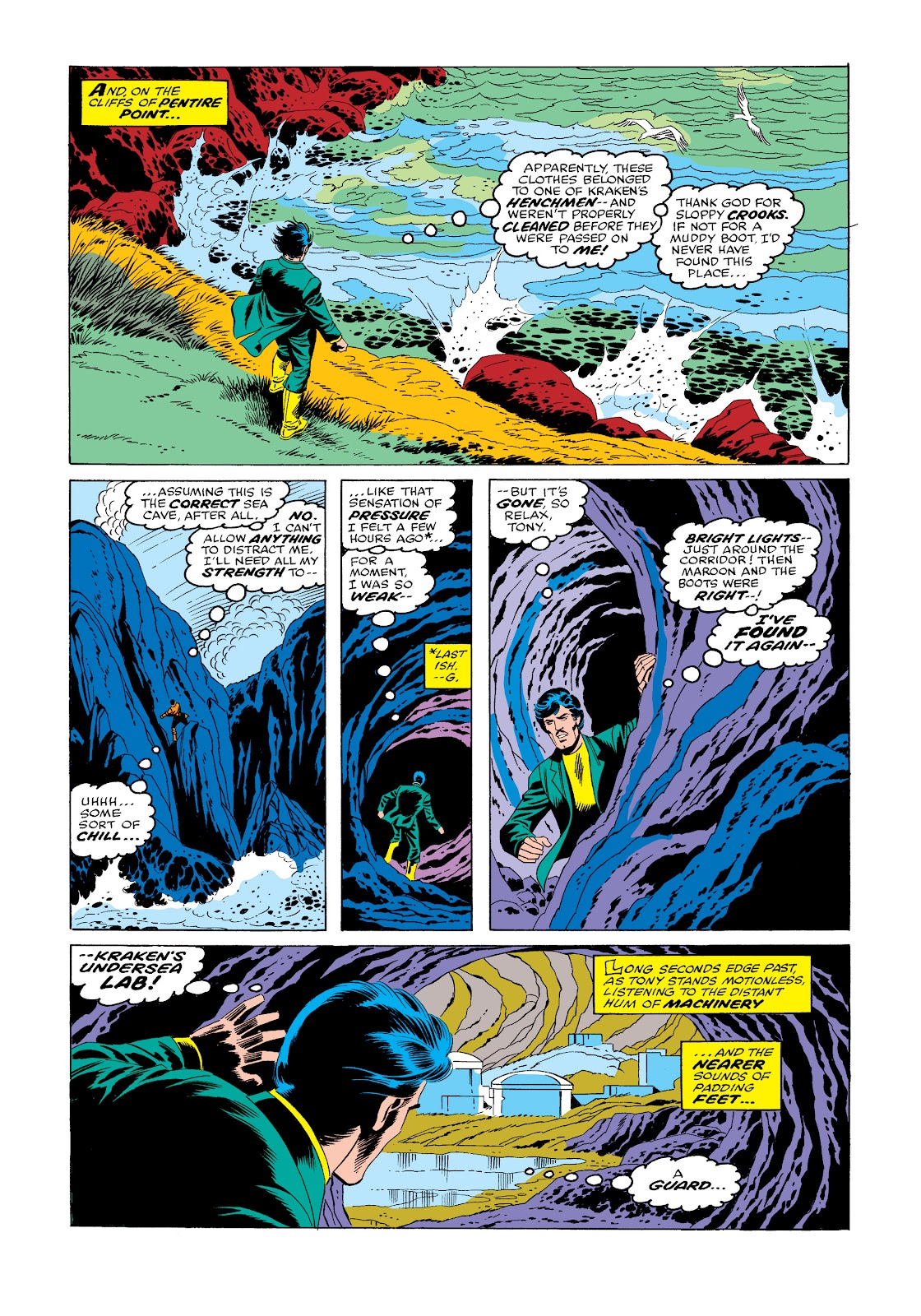 Read online Marvel Masterworks: The Invincible Iron Man comic -  Issue # TPB 11 (Part 3) - 76