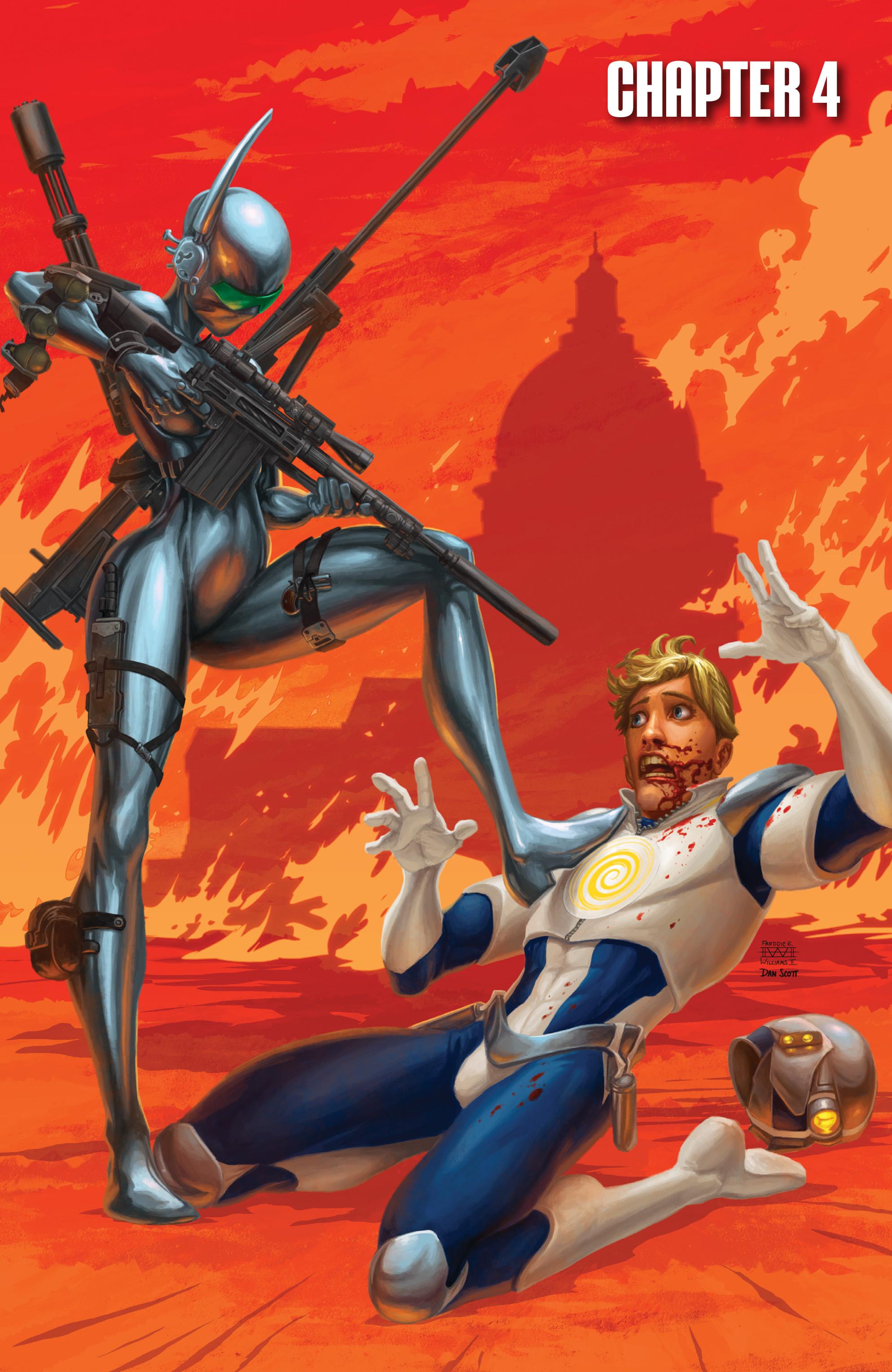Read online Brain Boy:  The Men from G.E.S.T.A.L.T. comic -  Issue # TPB - 78